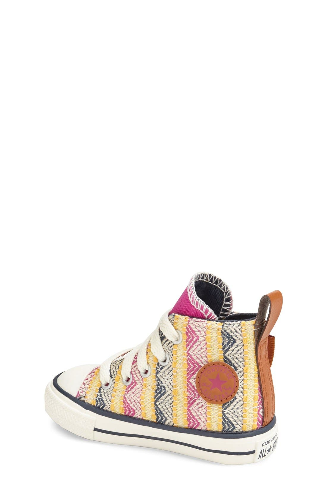 Chuck Taylor<sup>®</sup> All Star<sup>®</sup> 'Simple Step' High Top Sneaker,                             Alternate thumbnail 8, color,