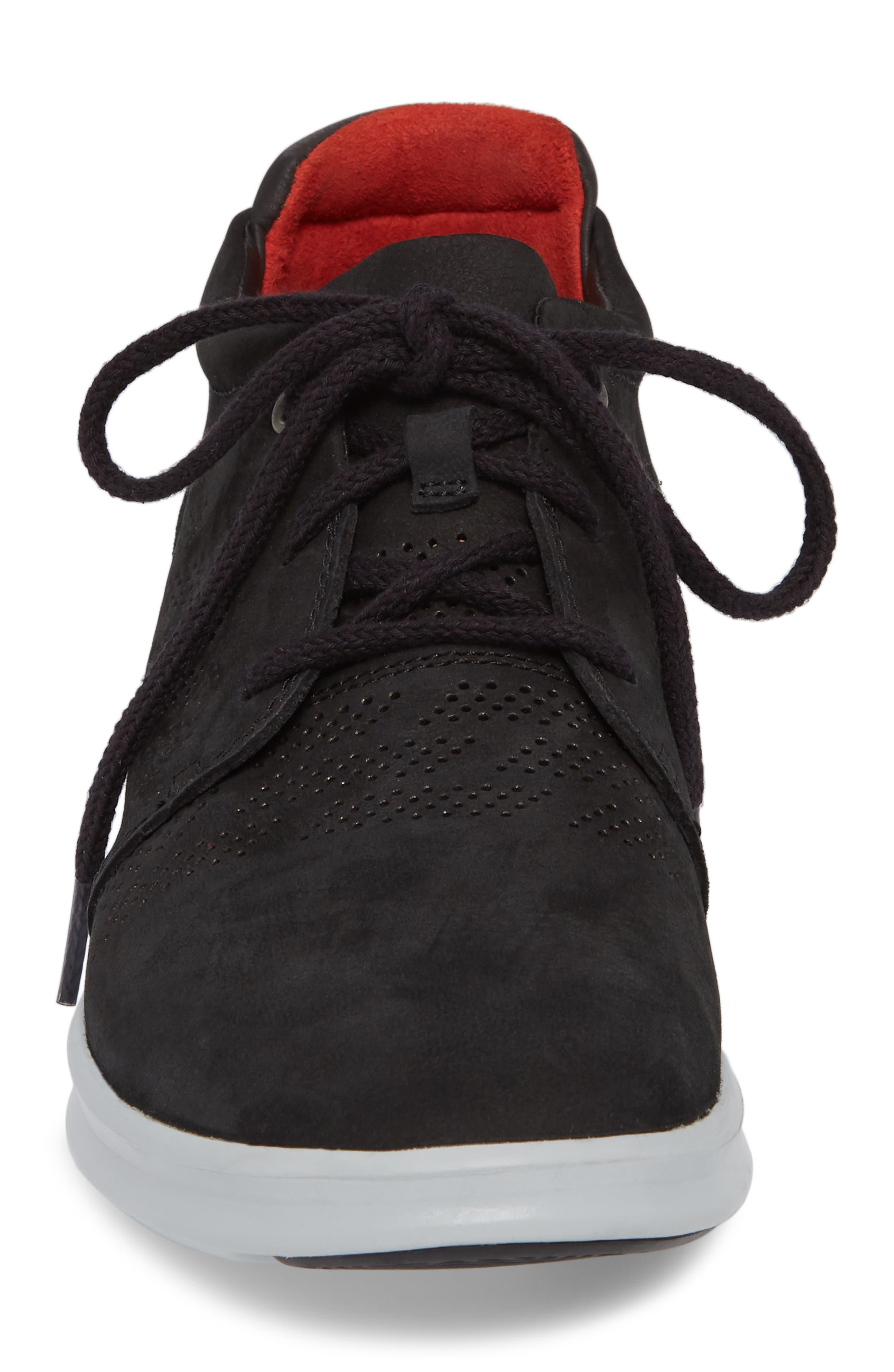 UGG<SUP>®</SUP>,                             Larken Chukka Sneaker,                             Alternate thumbnail 4, color,                             001