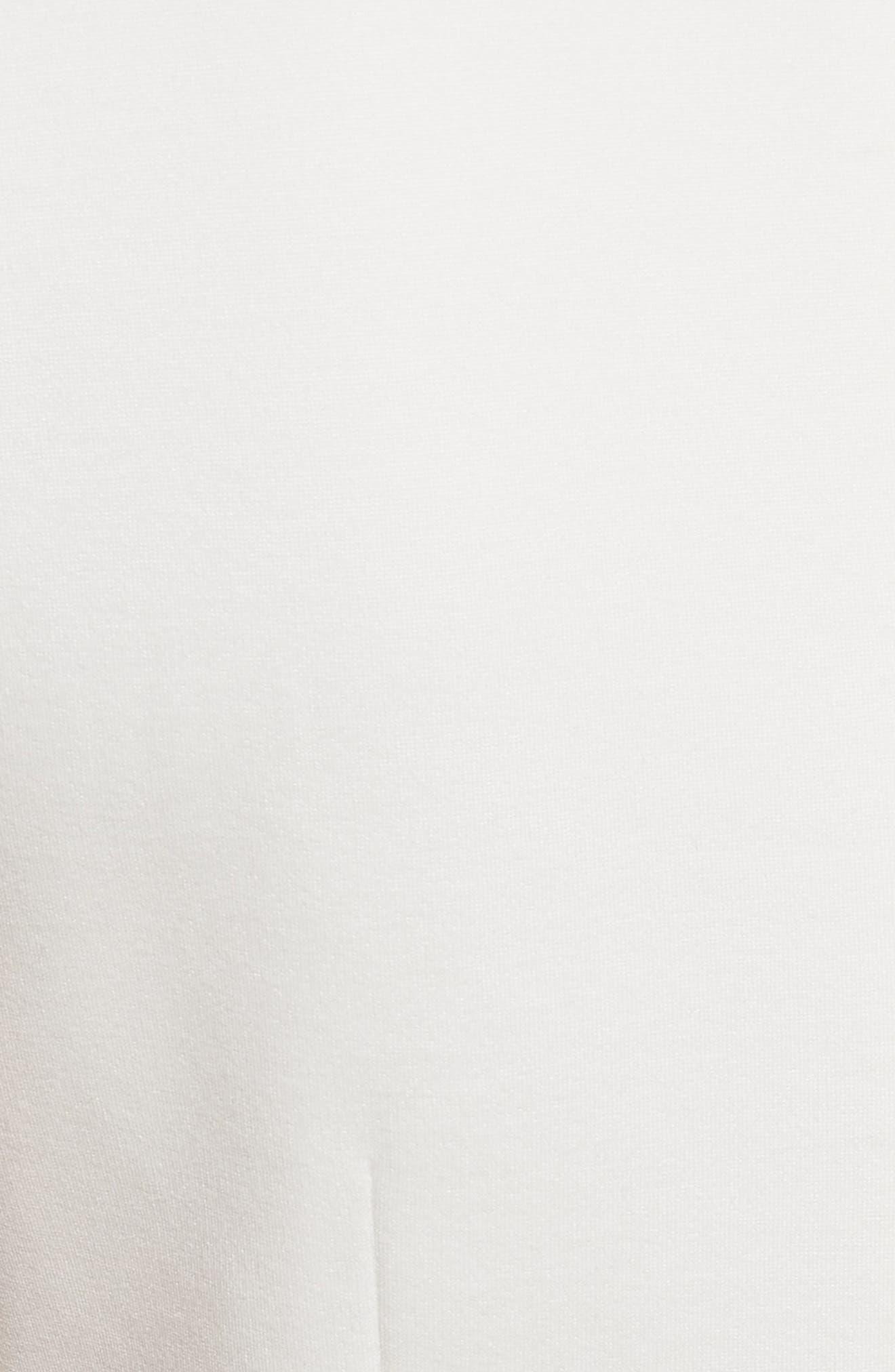 TED BAKER LONDON,                             Emmona Embroidered Skater Dress,                             Alternate thumbnail 5, color,                             905