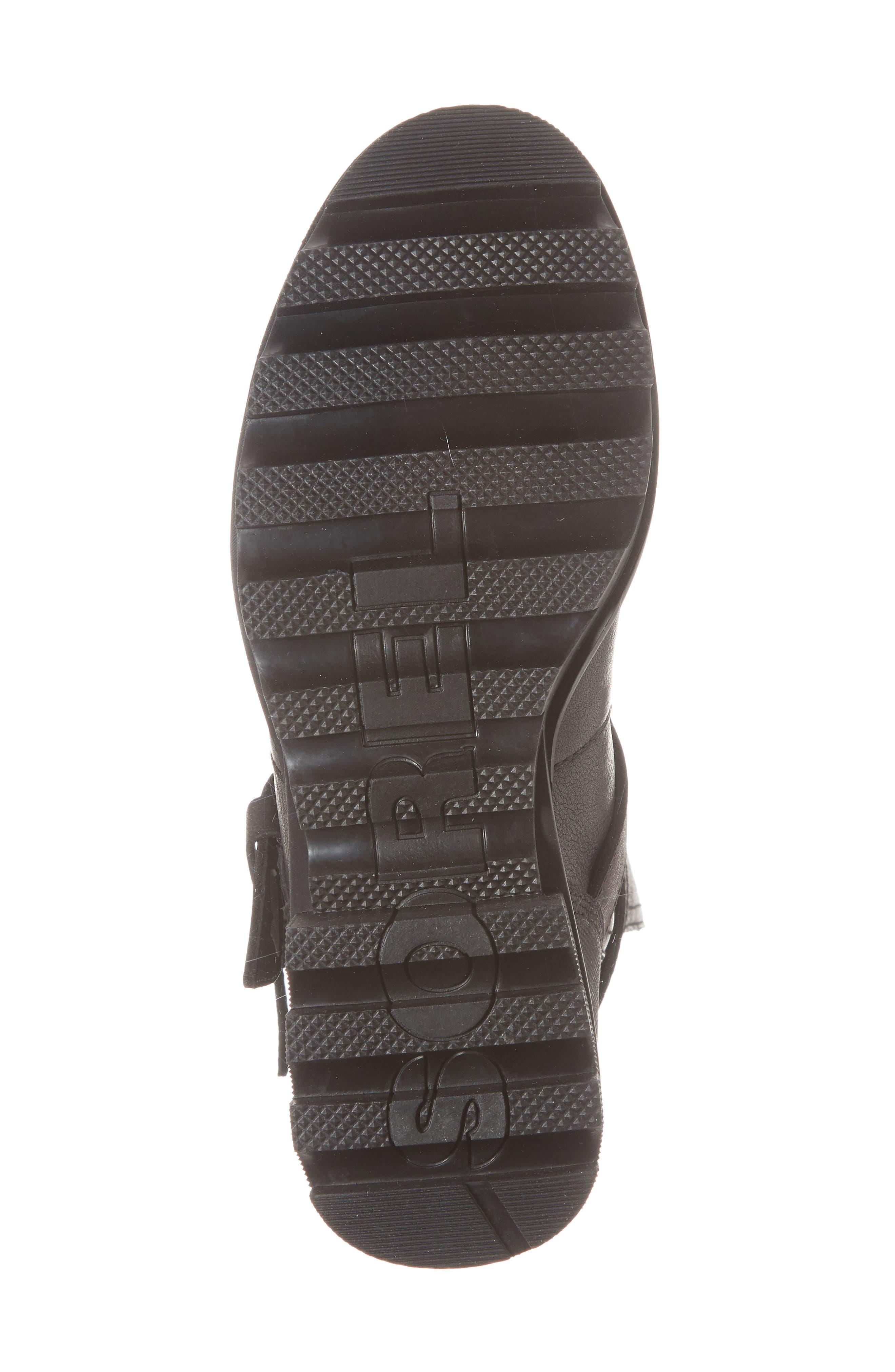 Phoenix Moto Waterproof Boot,                             Alternate thumbnail 6, color,                             BLACK