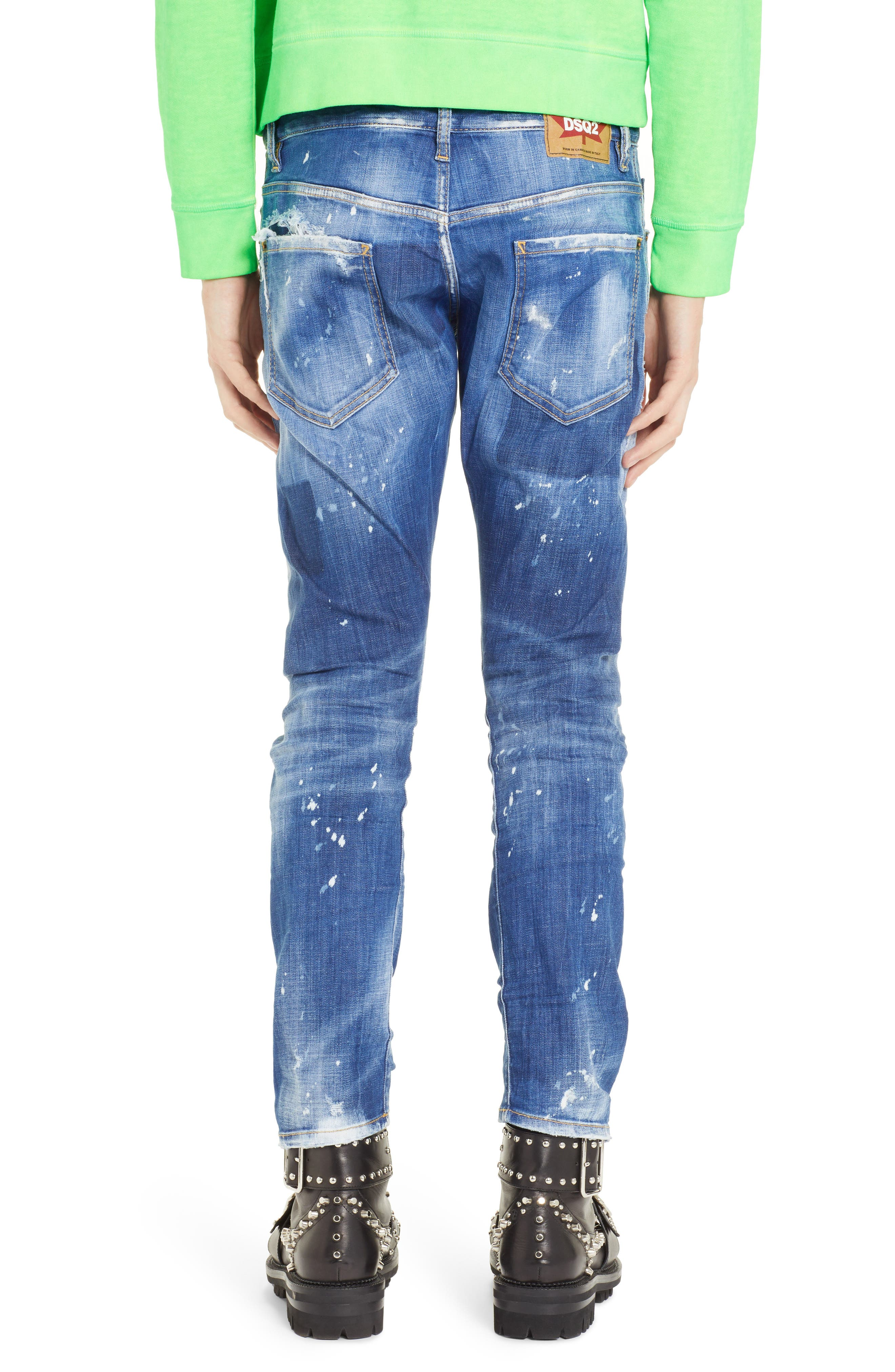 Cool Guy Jeans,                             Alternate thumbnail 2, color,                             BLUE