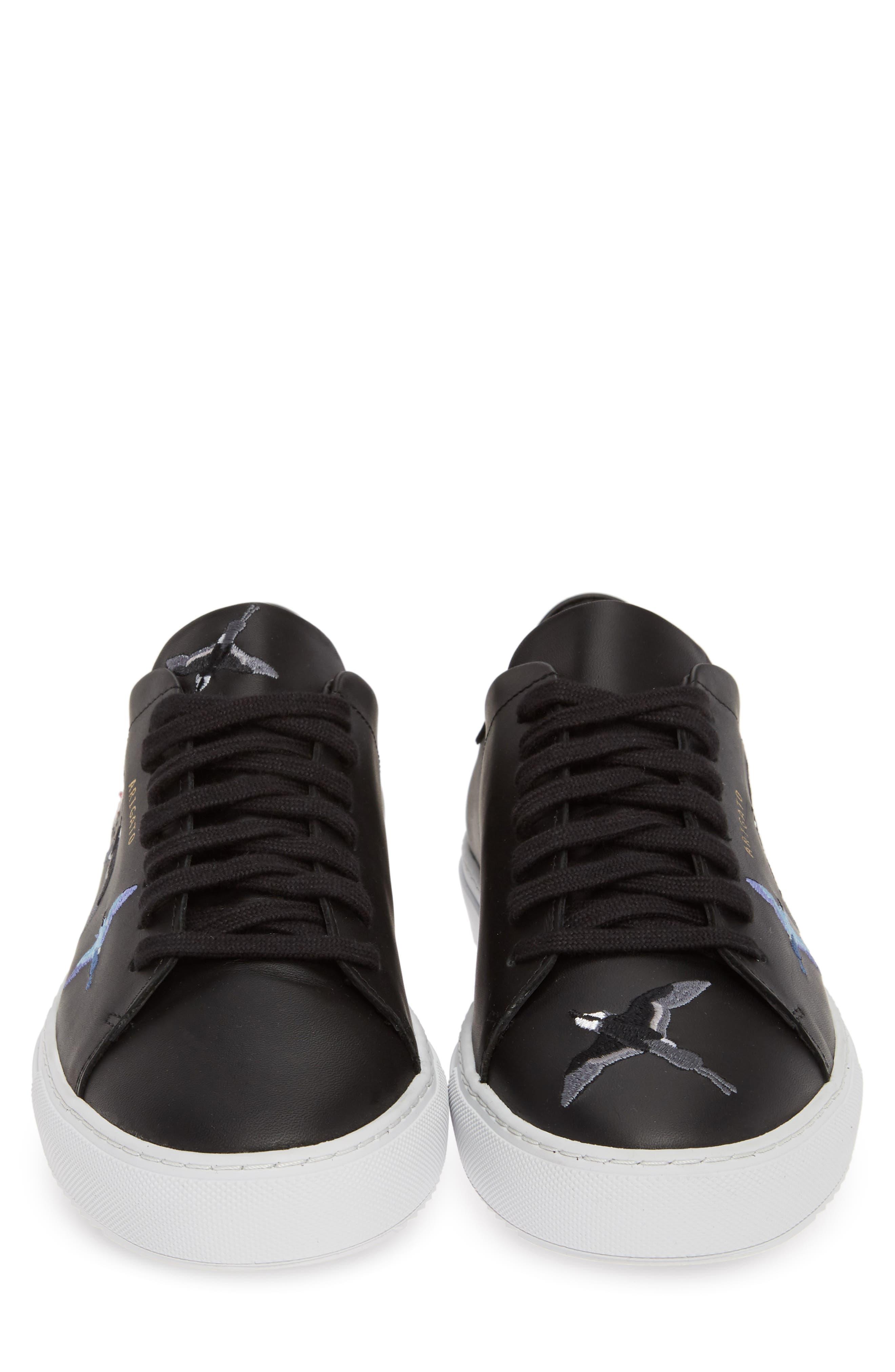 Clean 90 Sneaker,                             Alternate thumbnail 5, color,                             BLACK W/ BIRDS