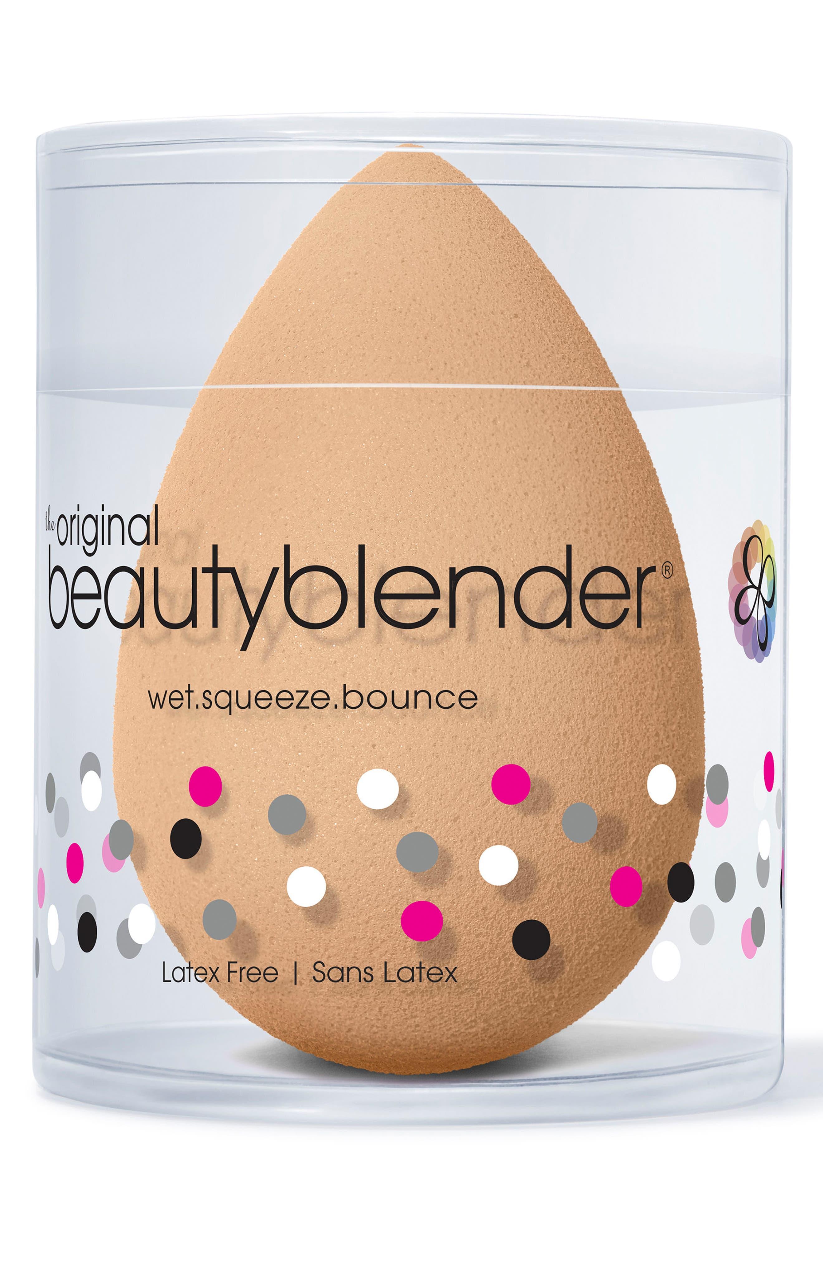 Nude Makeup Sponge Applicator,                             Alternate thumbnail 3, color,                             NO COLOR