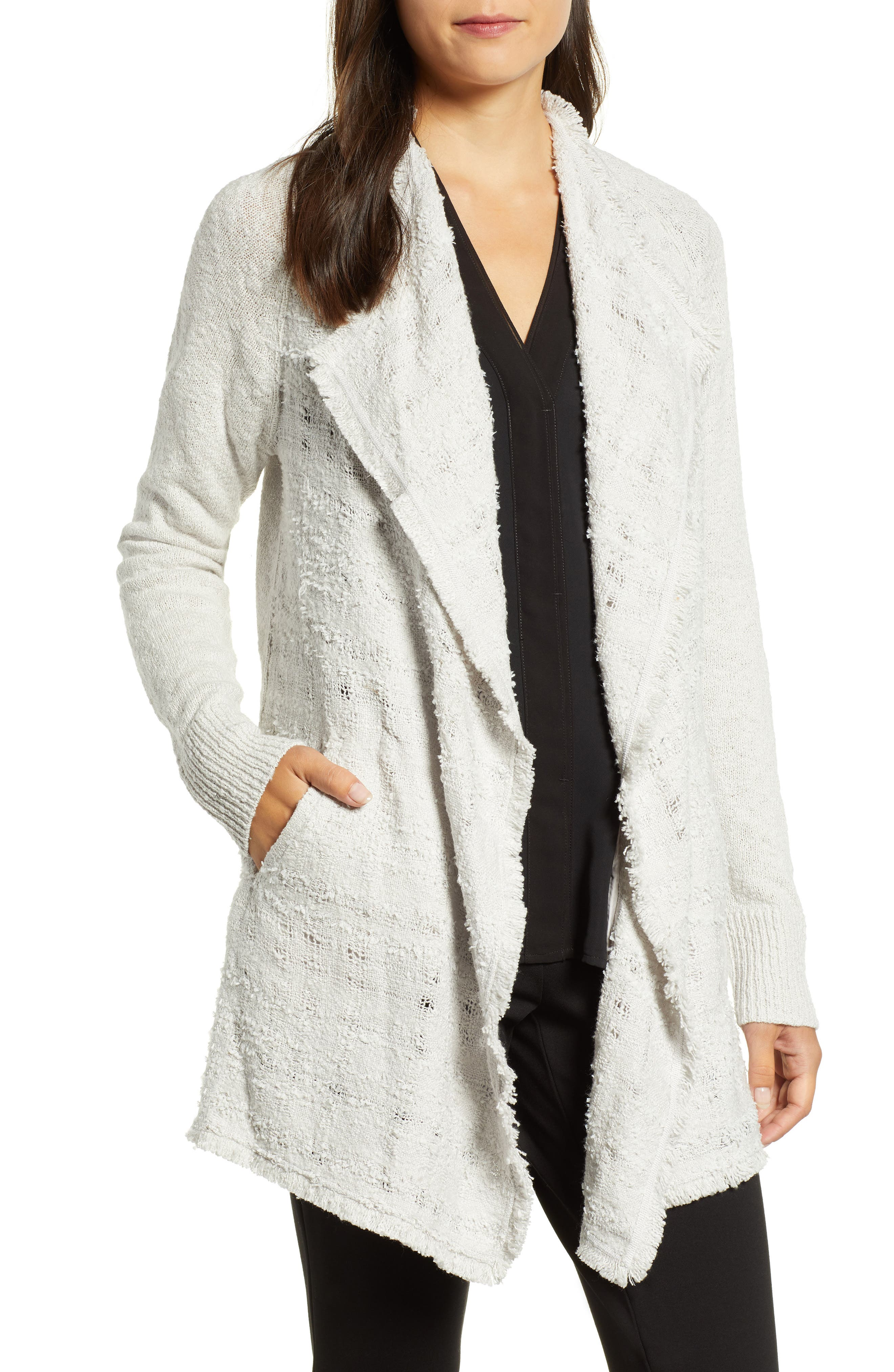 Carefree Cardigan,                         Main,                         color, FROST