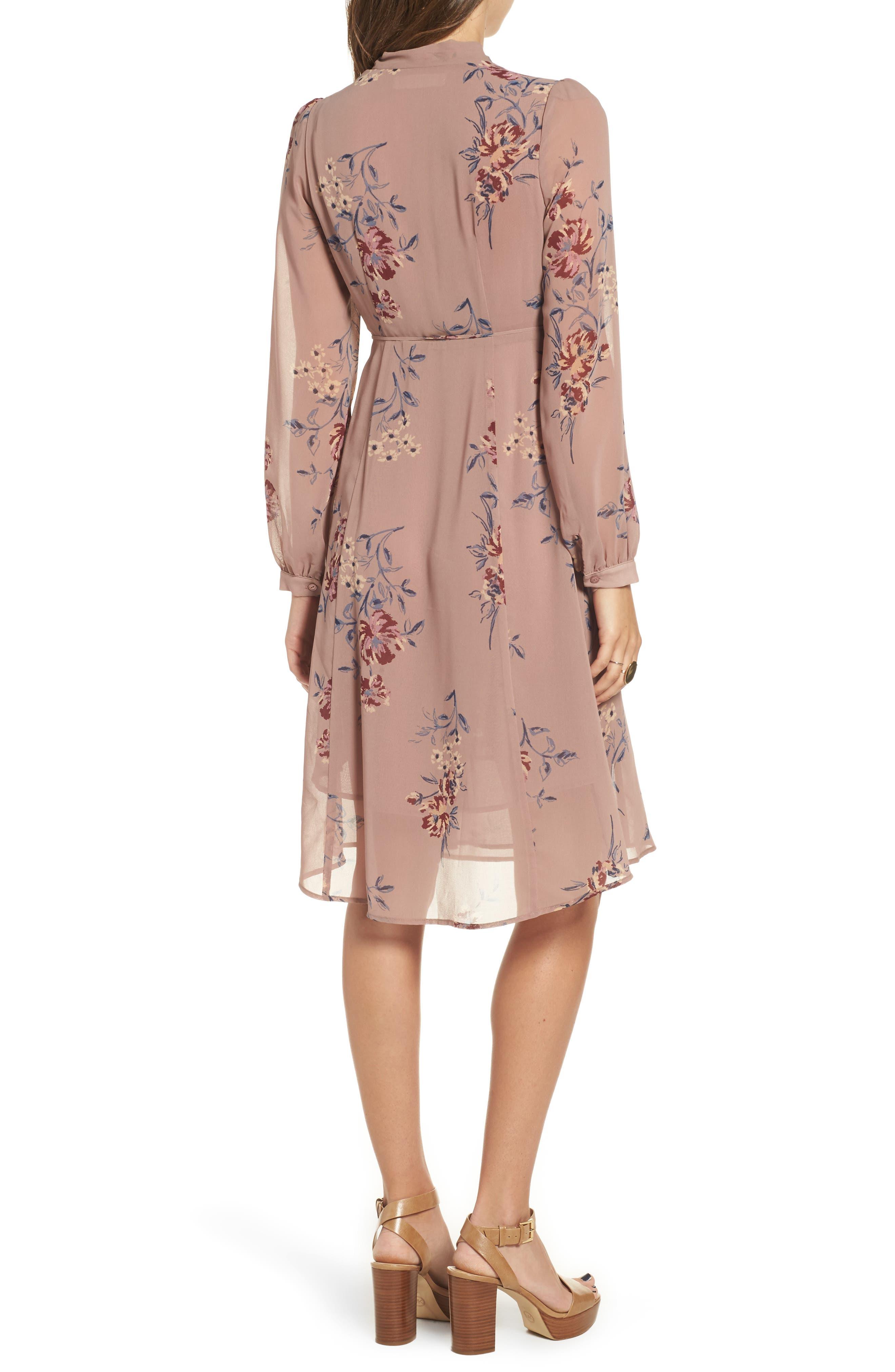 Tyra A-Line Dress,                             Alternate thumbnail 4, color,
