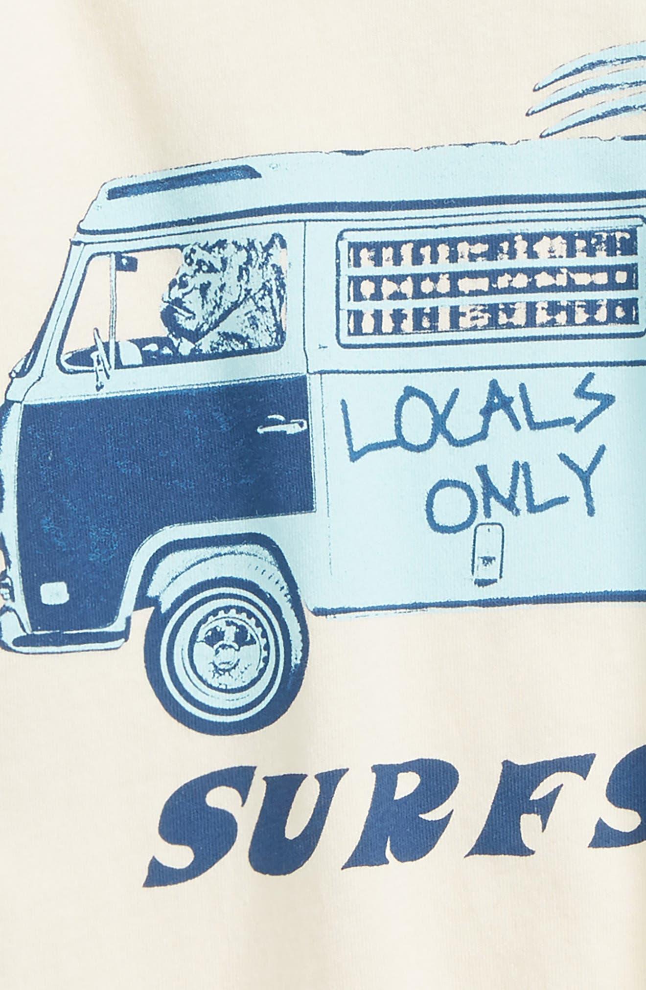 Surfs Up Ringer T-Shirt,                             Alternate thumbnail 2, color,                             900