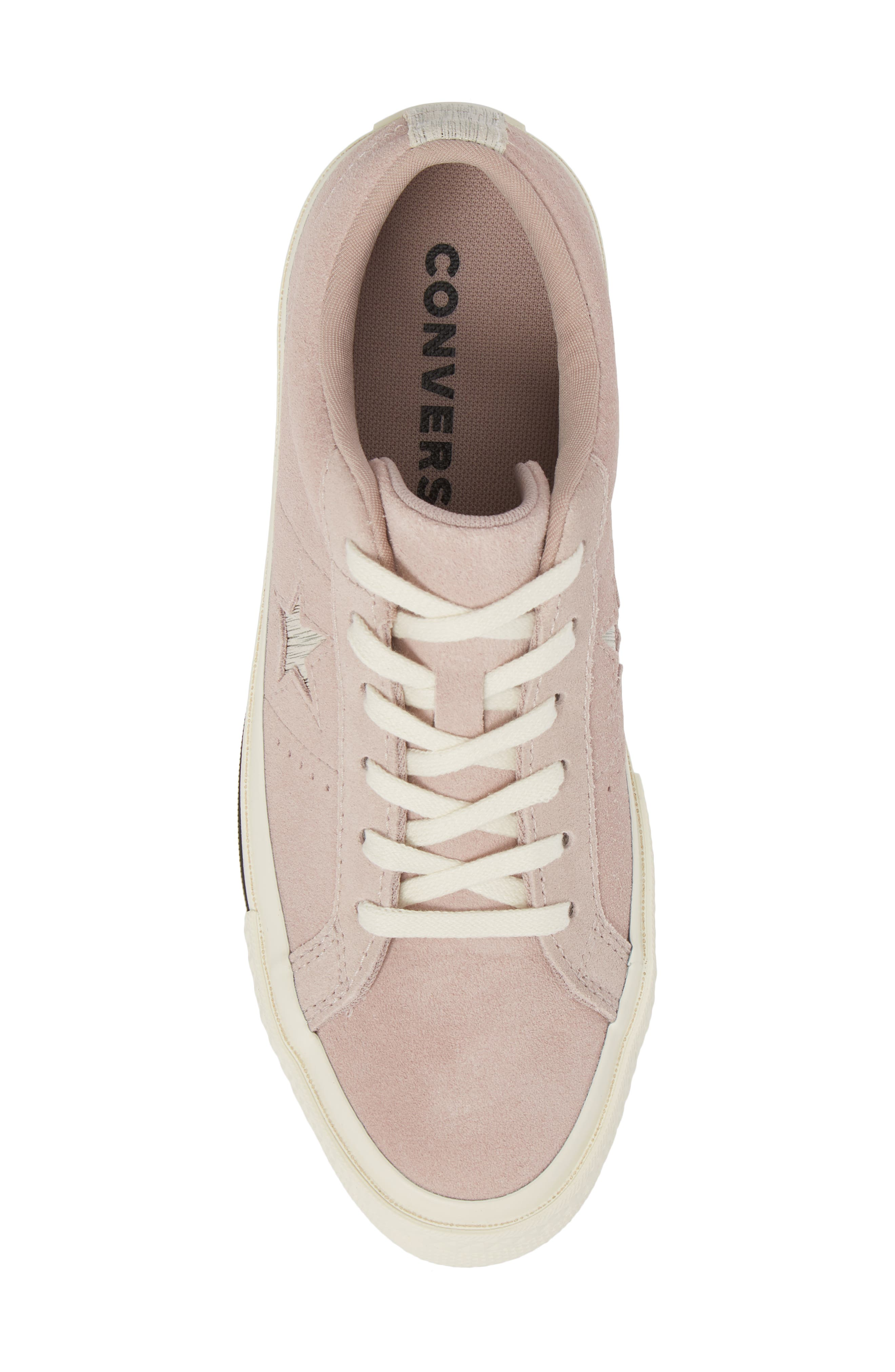 One Star Suede Low Top Sneaker,                             Alternate thumbnail 18, color,