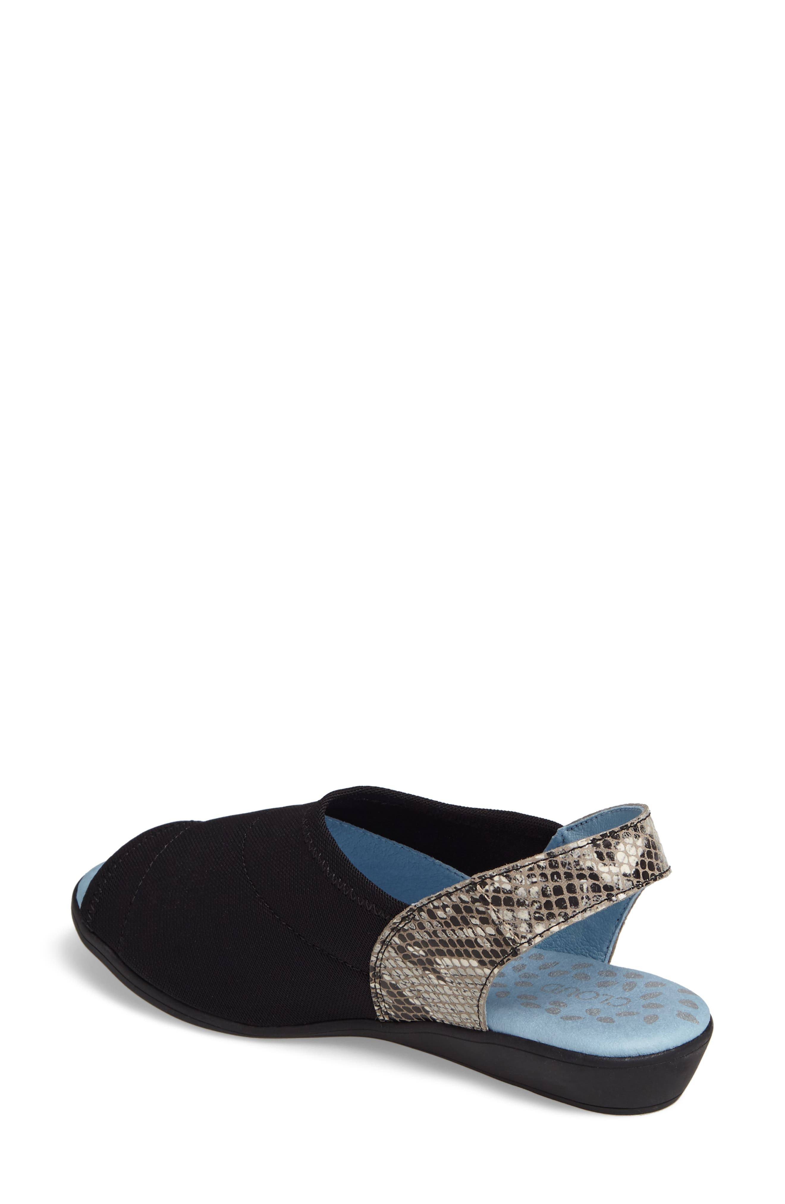 Cuteness Slingback Sandal,                             Alternate thumbnail 2, color,                             PITON BOA
