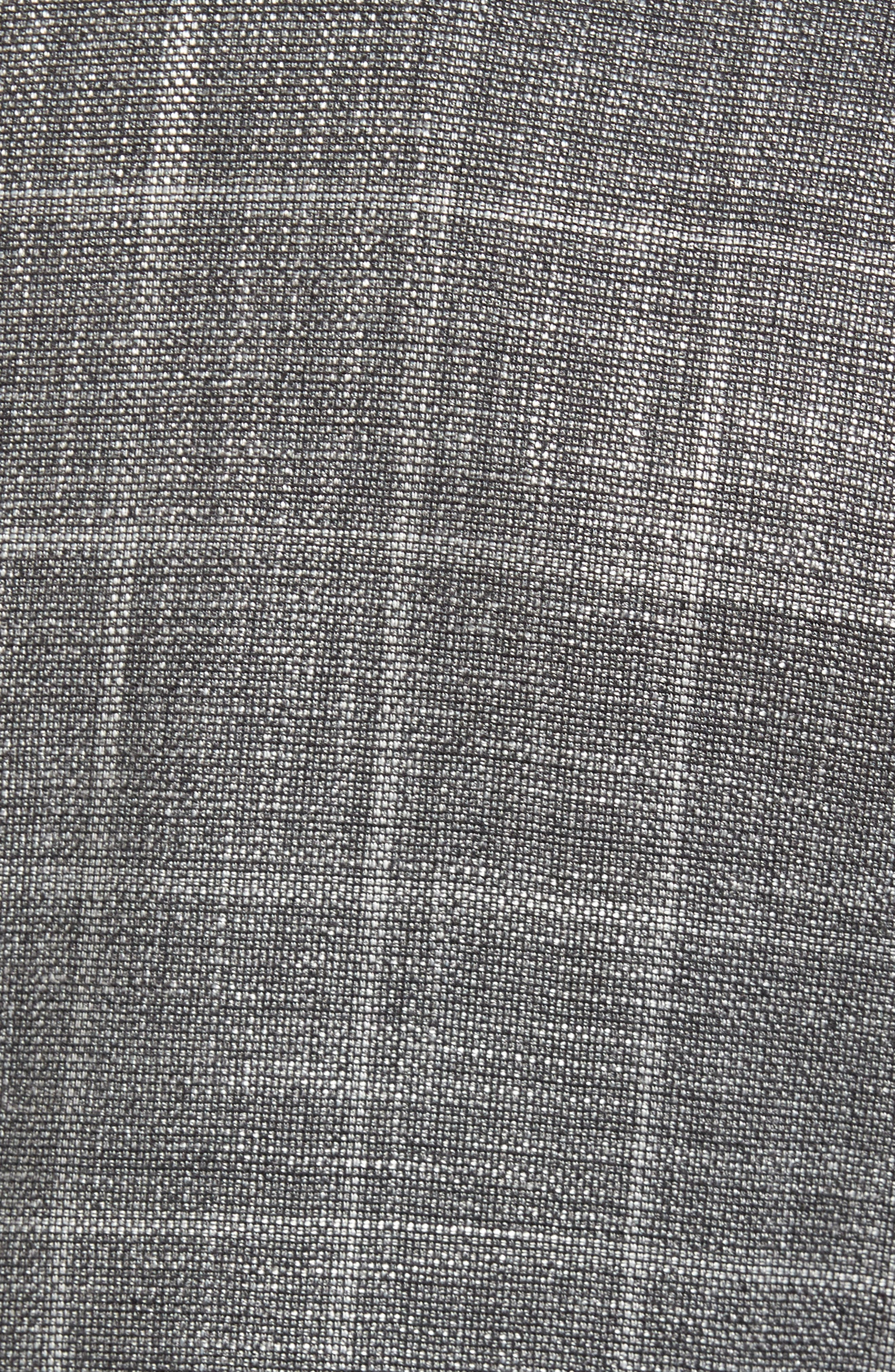 T-Naiden Trim Fit Windowpane Sport Coat,                             Alternate thumbnail 6, color,                             030