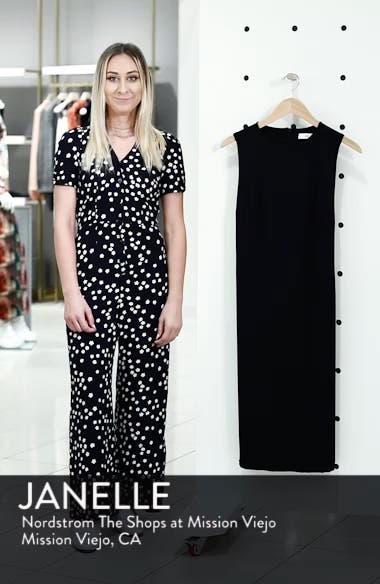 Olya Rib Sheath Dress, sales video thumbnail