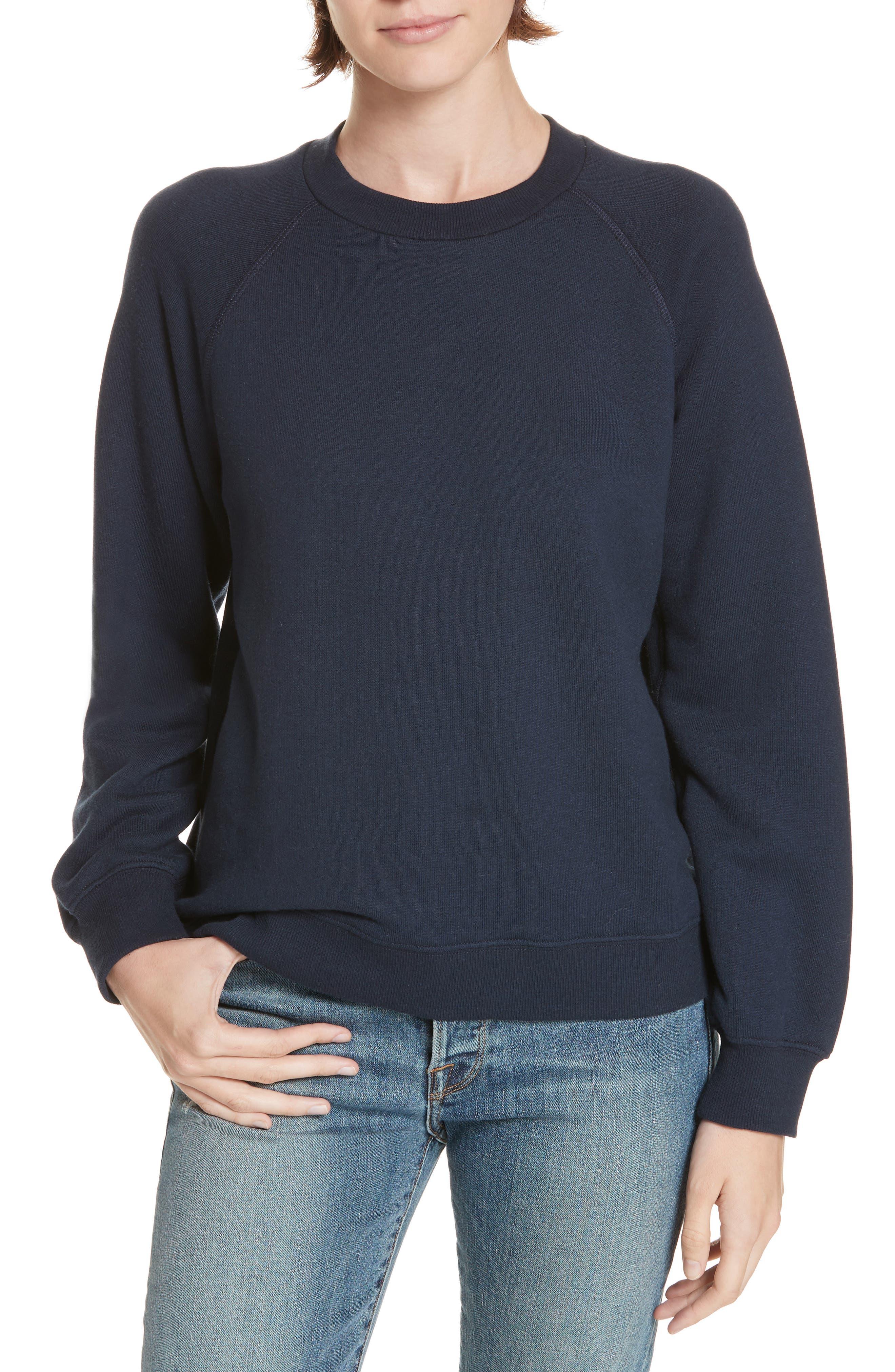 JENNI KAYNE Sweatshirt in Navy