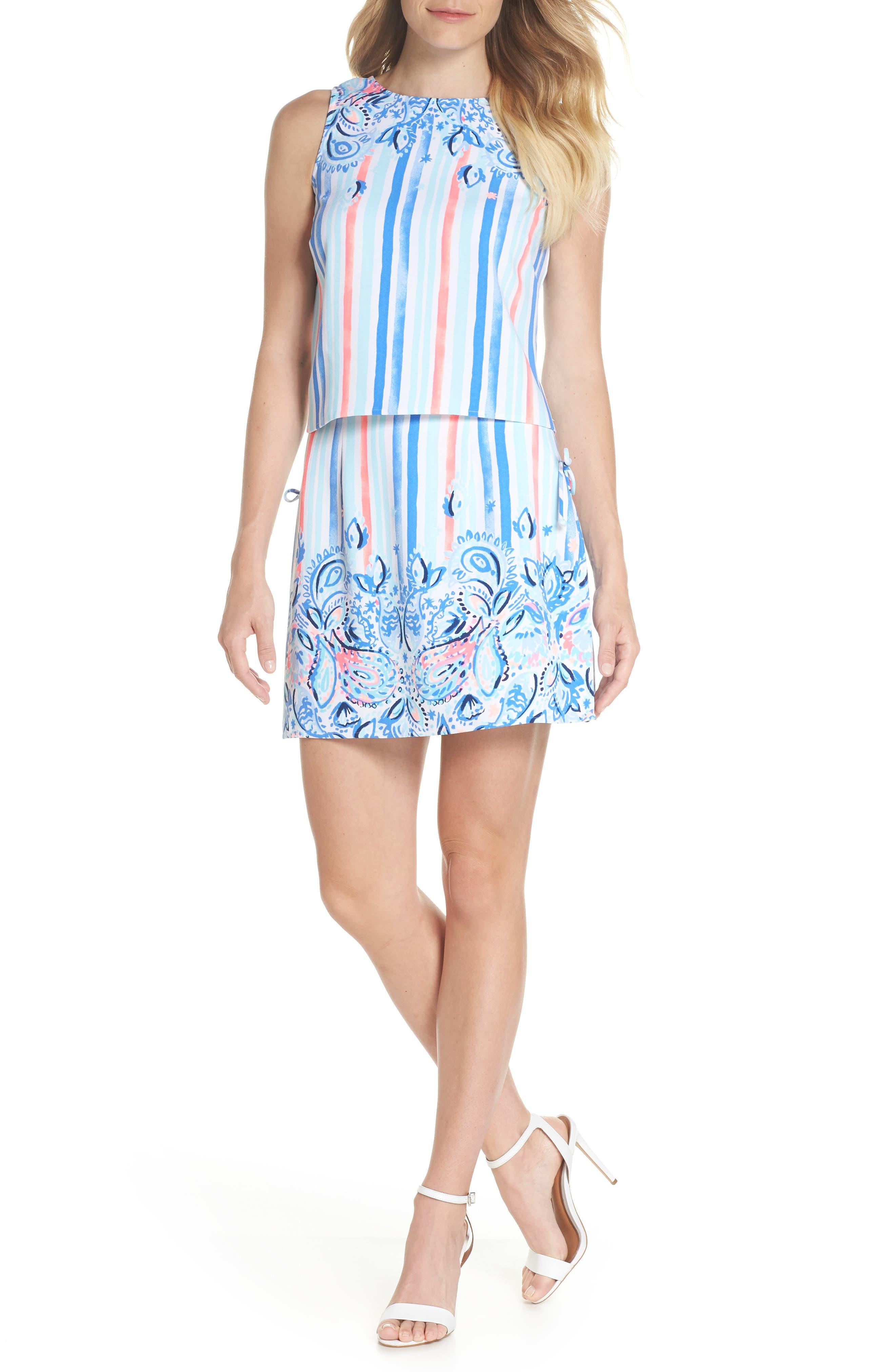 Donna Romper Dress,                             Alternate thumbnail 5, color,                             455