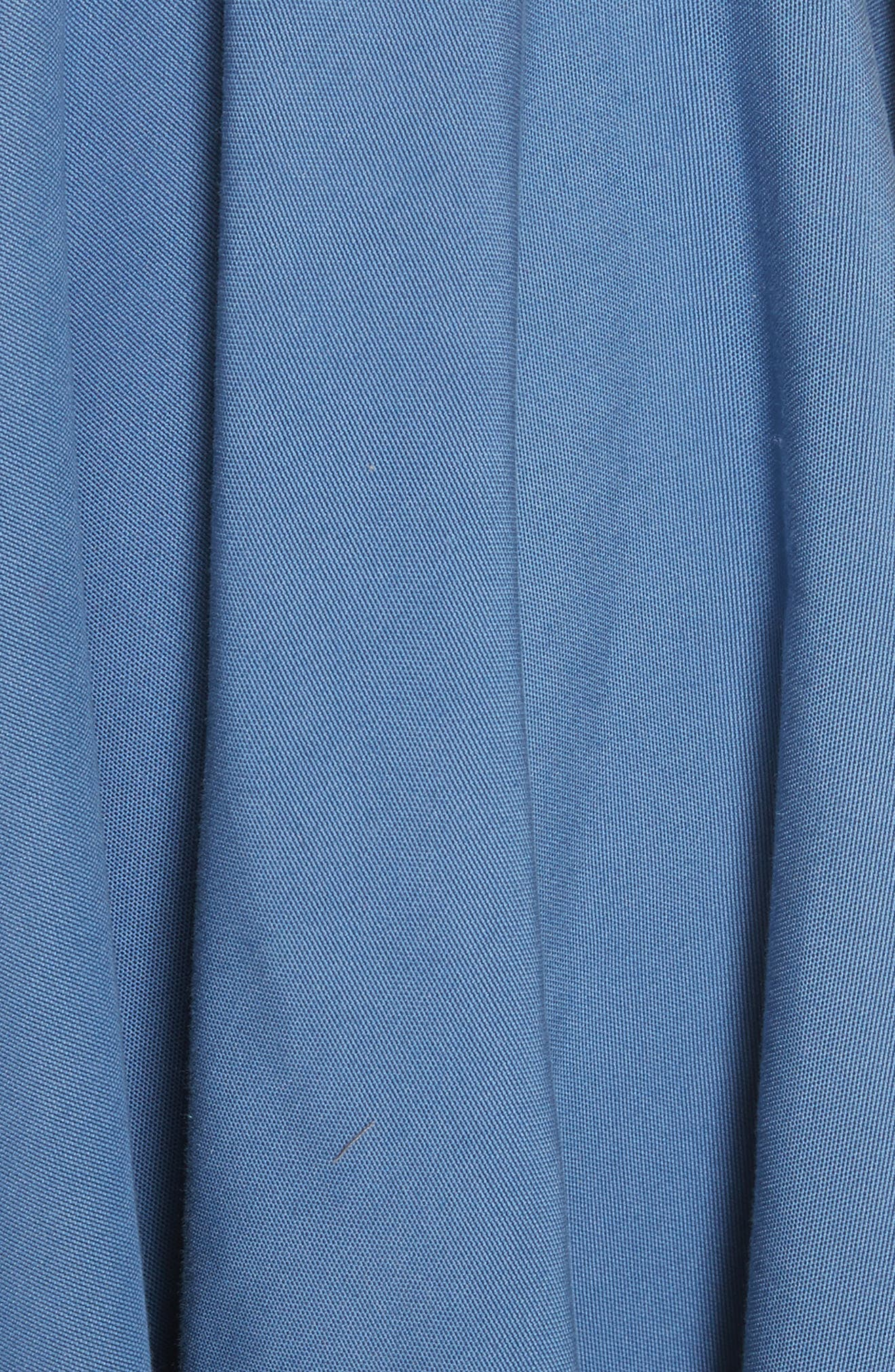 Zip Detail Circle Skirt,                             Alternate thumbnail 5, color,                             422