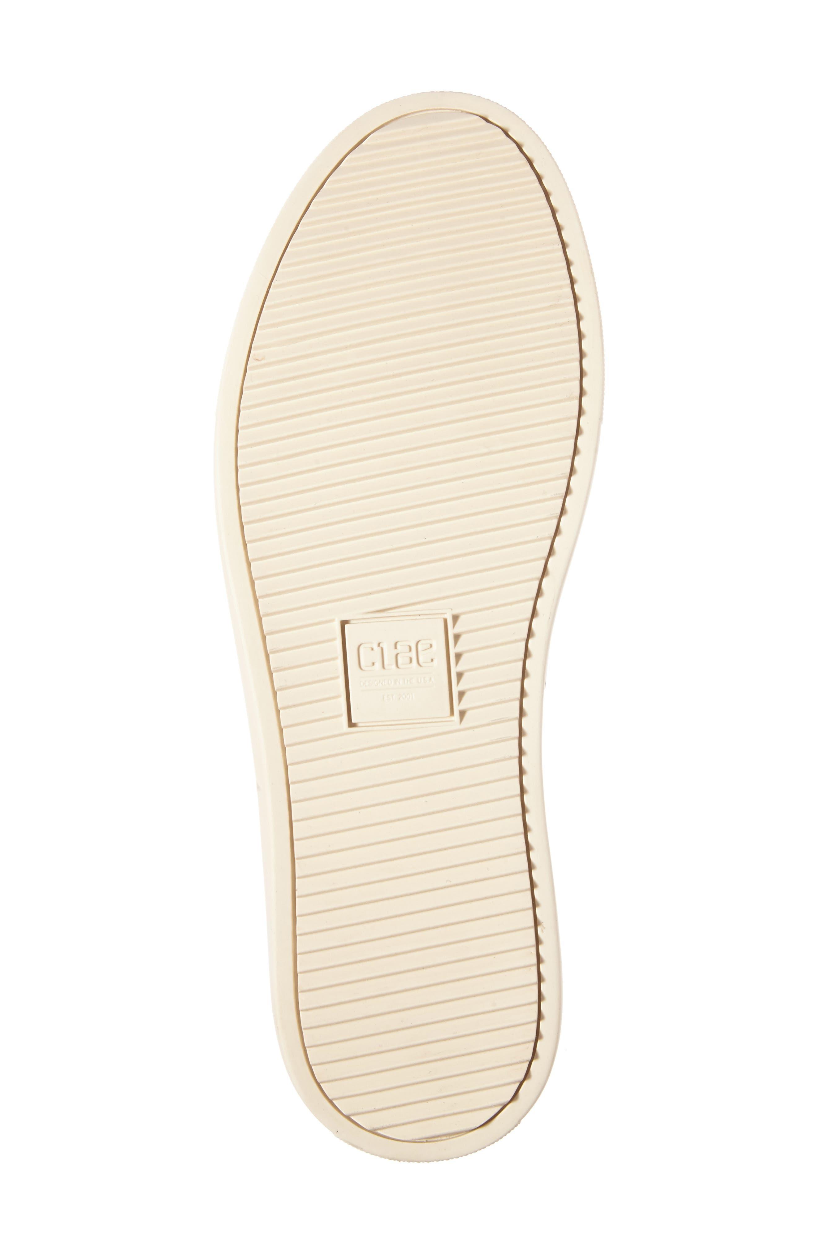 'Bradley Mid' Sneaker,                             Alternate thumbnail 6, color,                             WHITE/WHITE LEATHER