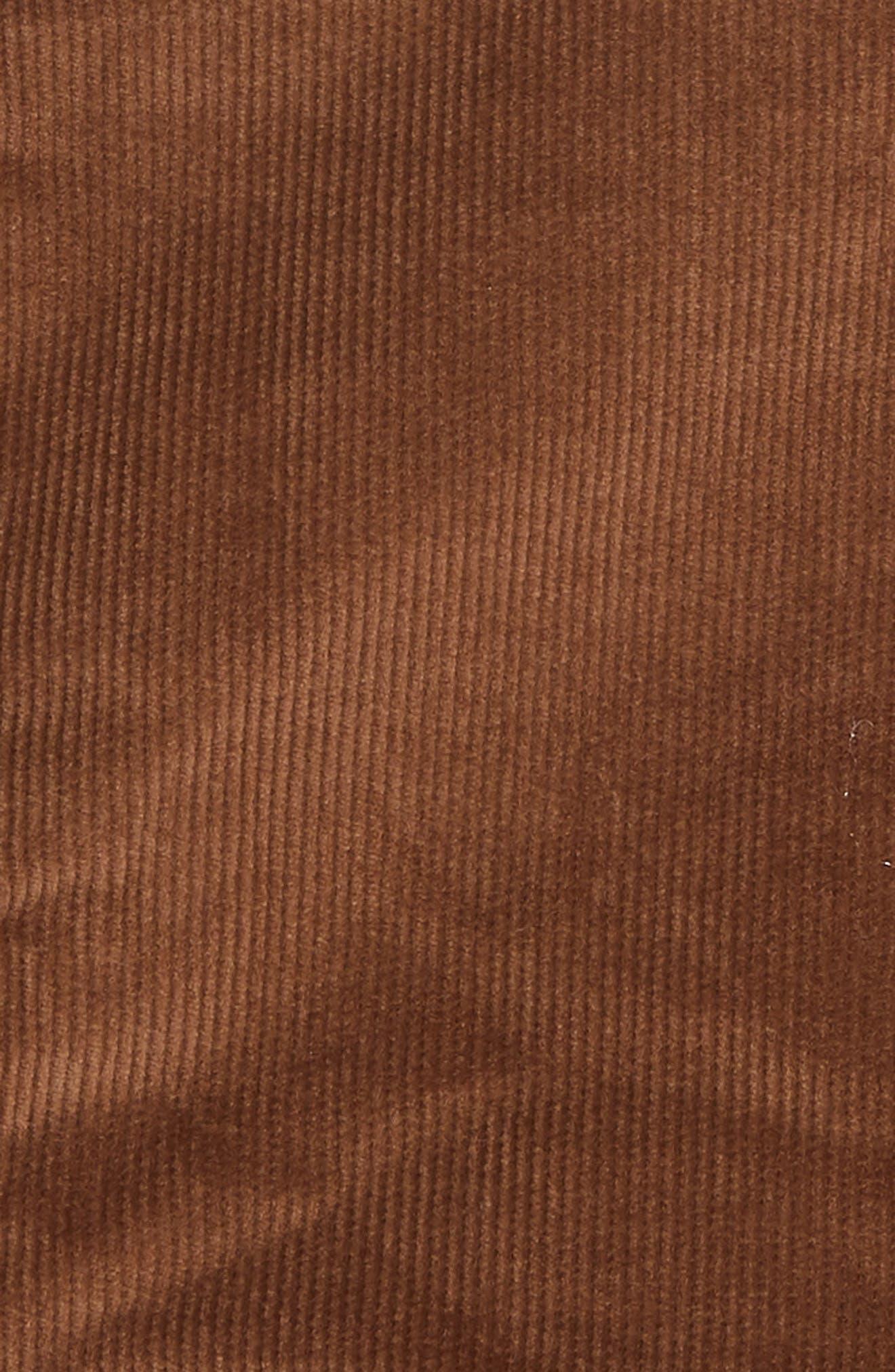 Le Mini Corduroy Skirt,                             Alternate thumbnail 5, color,                             253