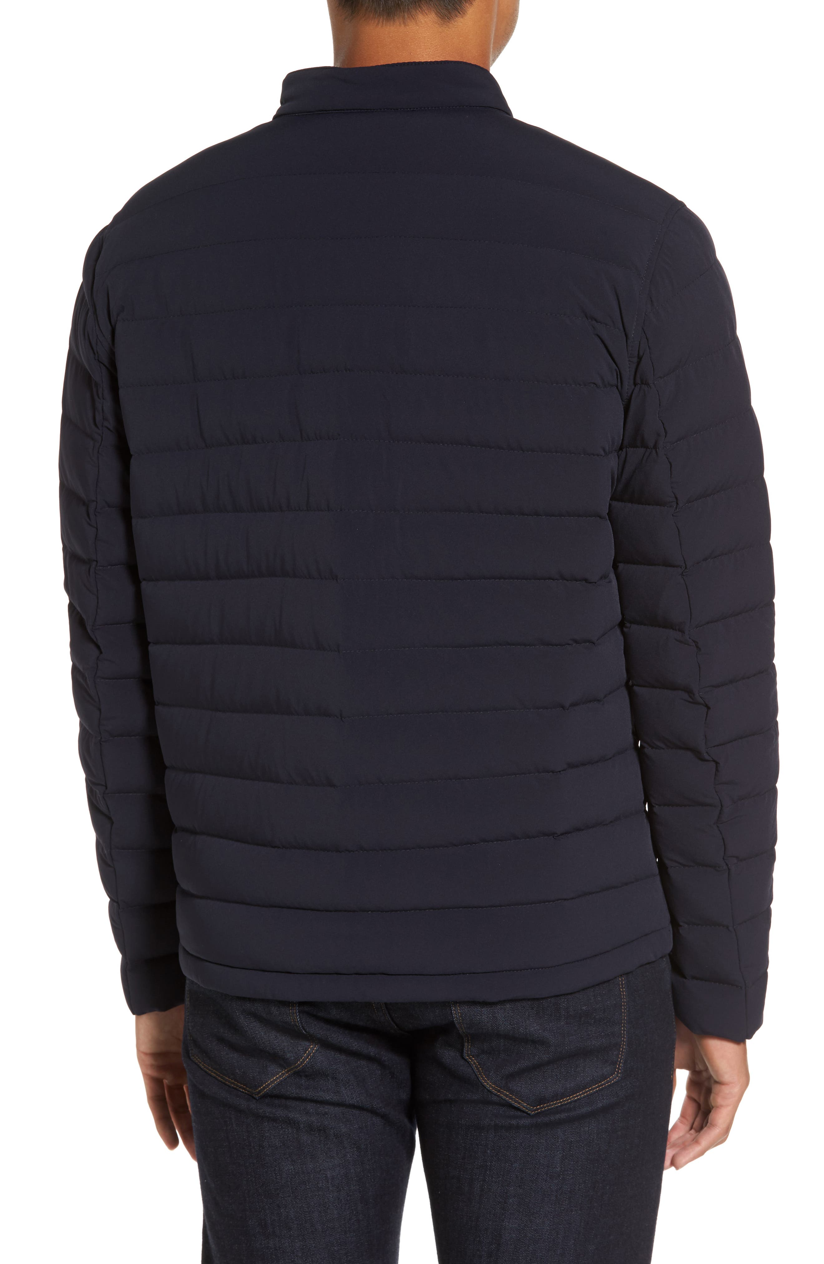 Packable Stretch Down Jacket,                             Alternate thumbnail 8, color,