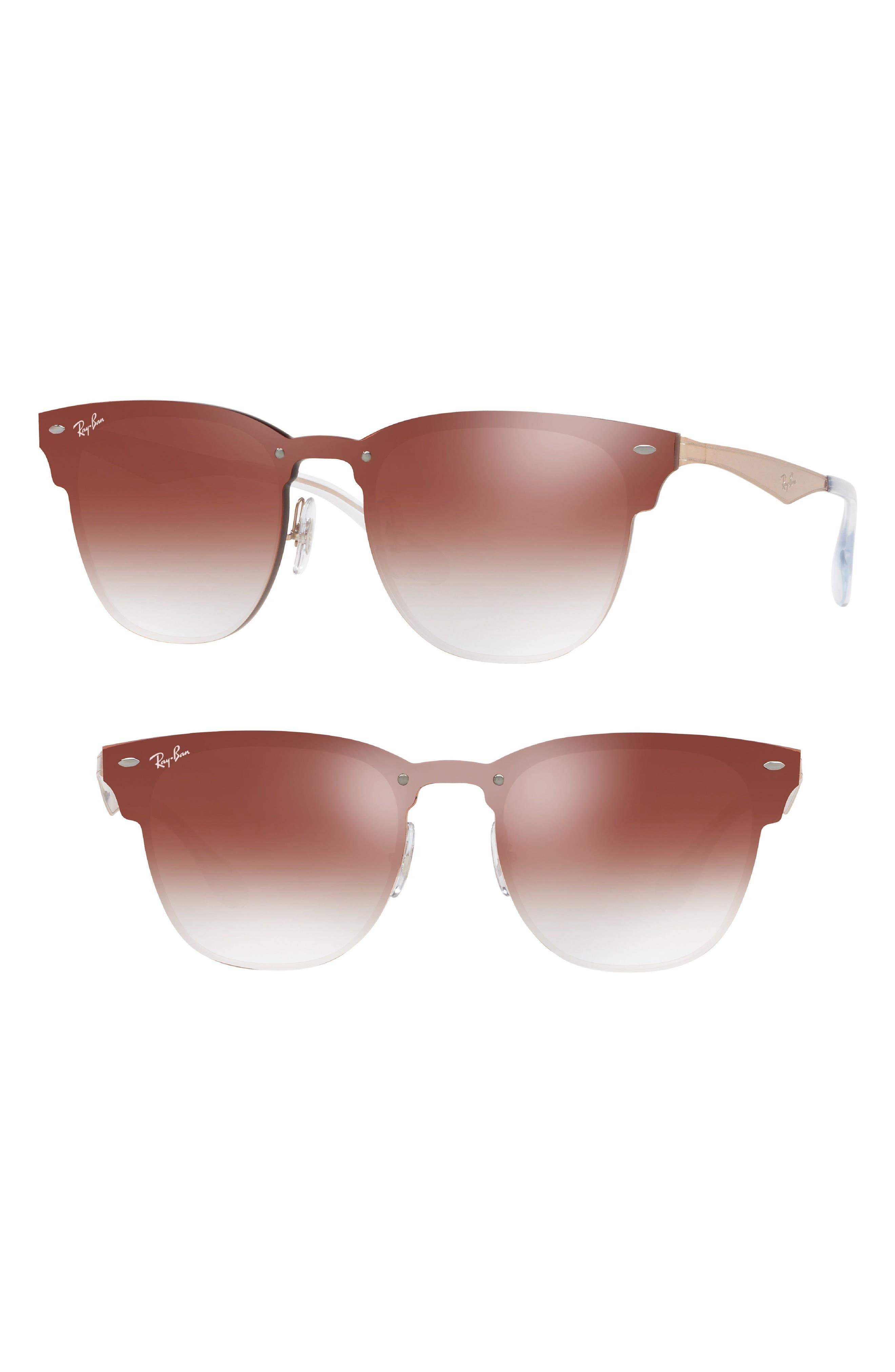Blaze Clubmaster 47mm Sunglasses,                         Main,                         color, 221