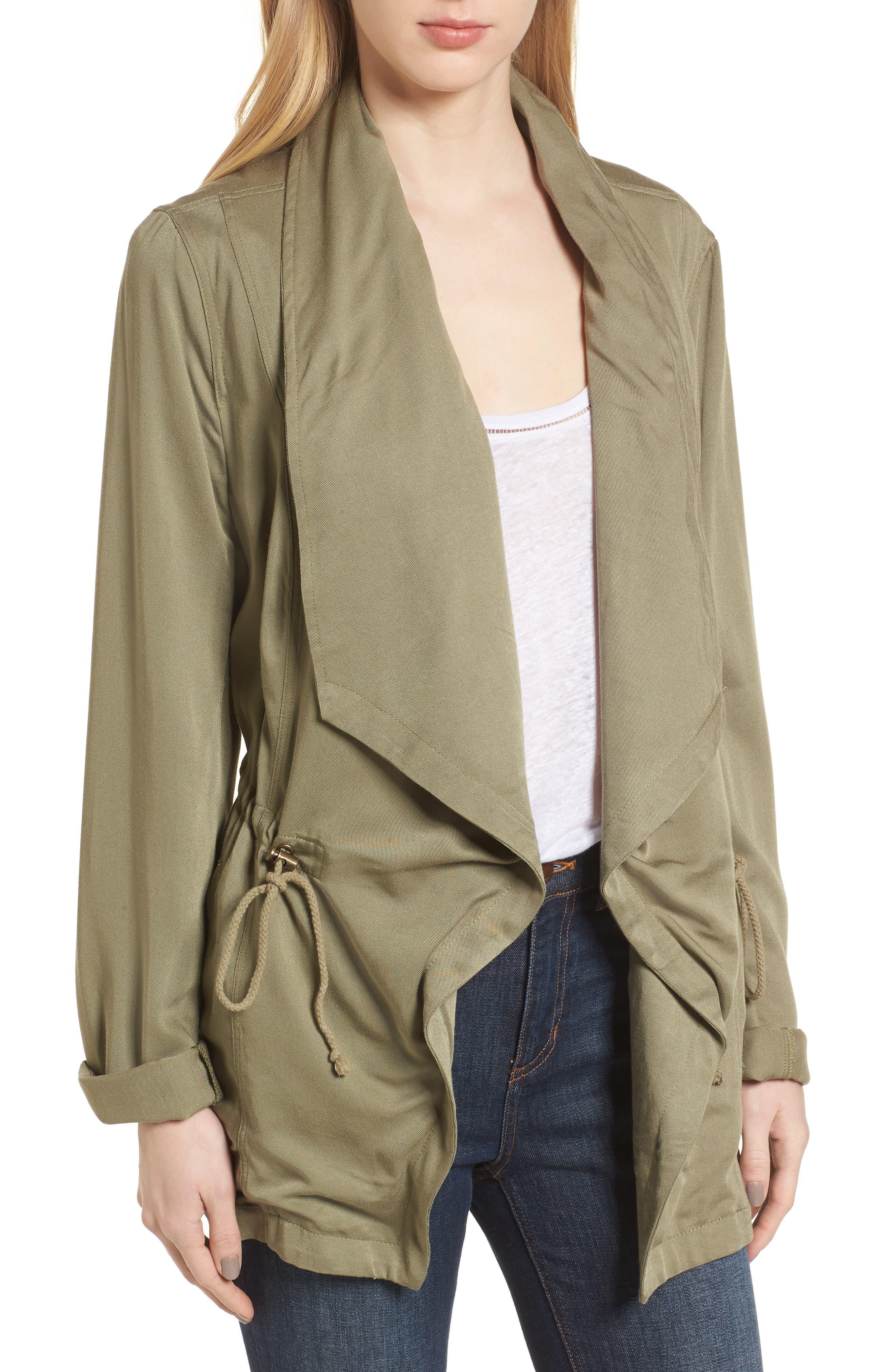 Drape Jacket,                             Main thumbnail 1, color,