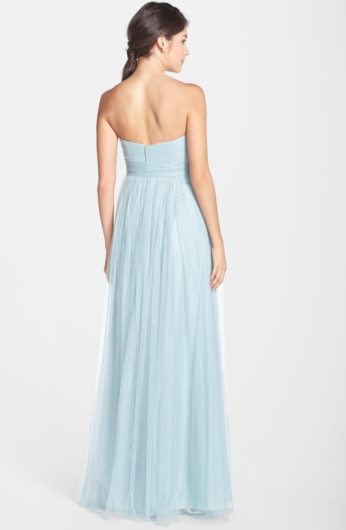 Annabelle Convertible Tulle Column Dress,                             Alternate thumbnail 159, color,