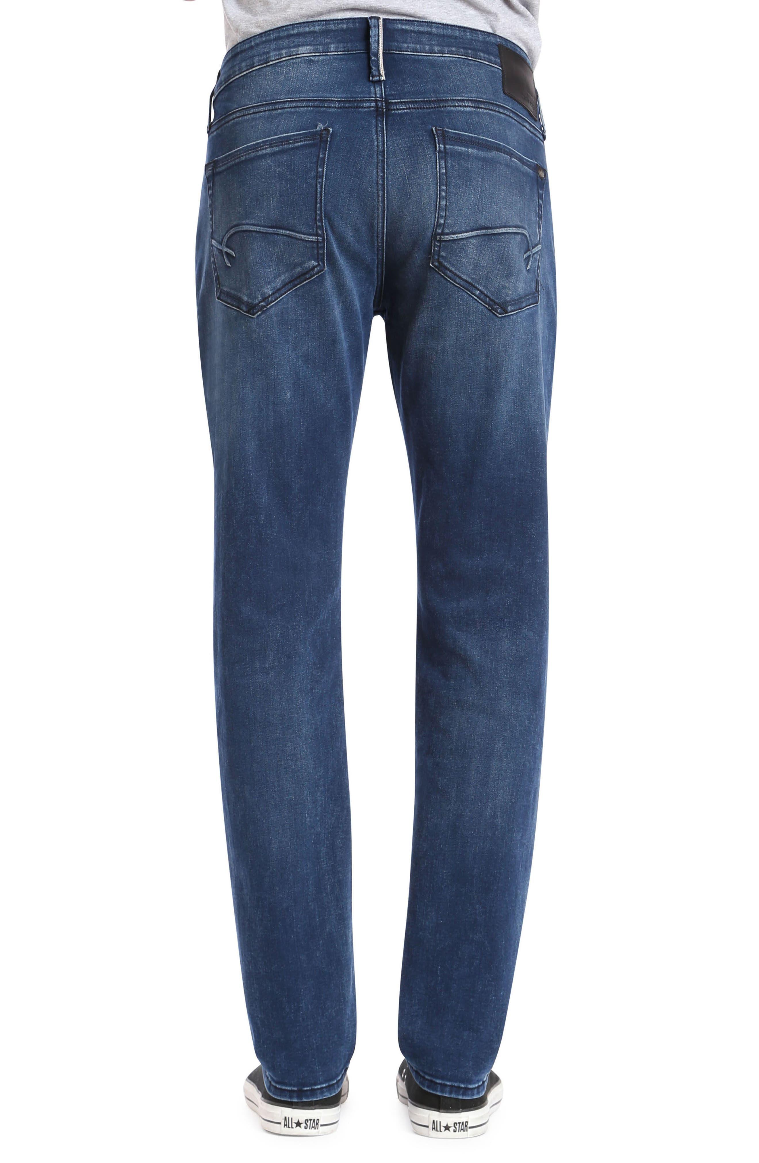 Marcus Slim Straight Leg Jeans,                             Alternate thumbnail 2, color,                             400
