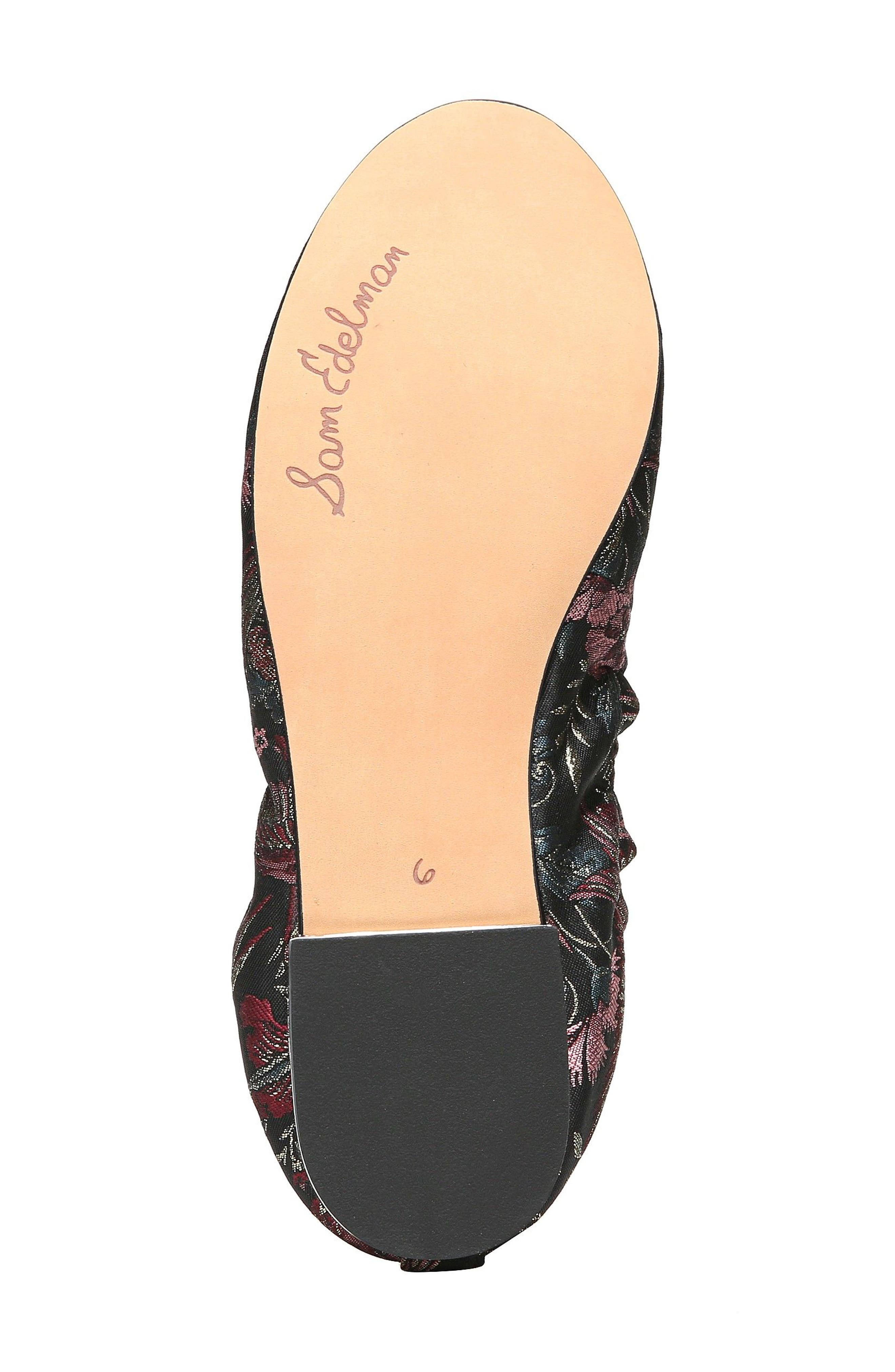 SAM EDELMAN,                             Farrow Flat,                             Alternate thumbnail 6, color,                             001