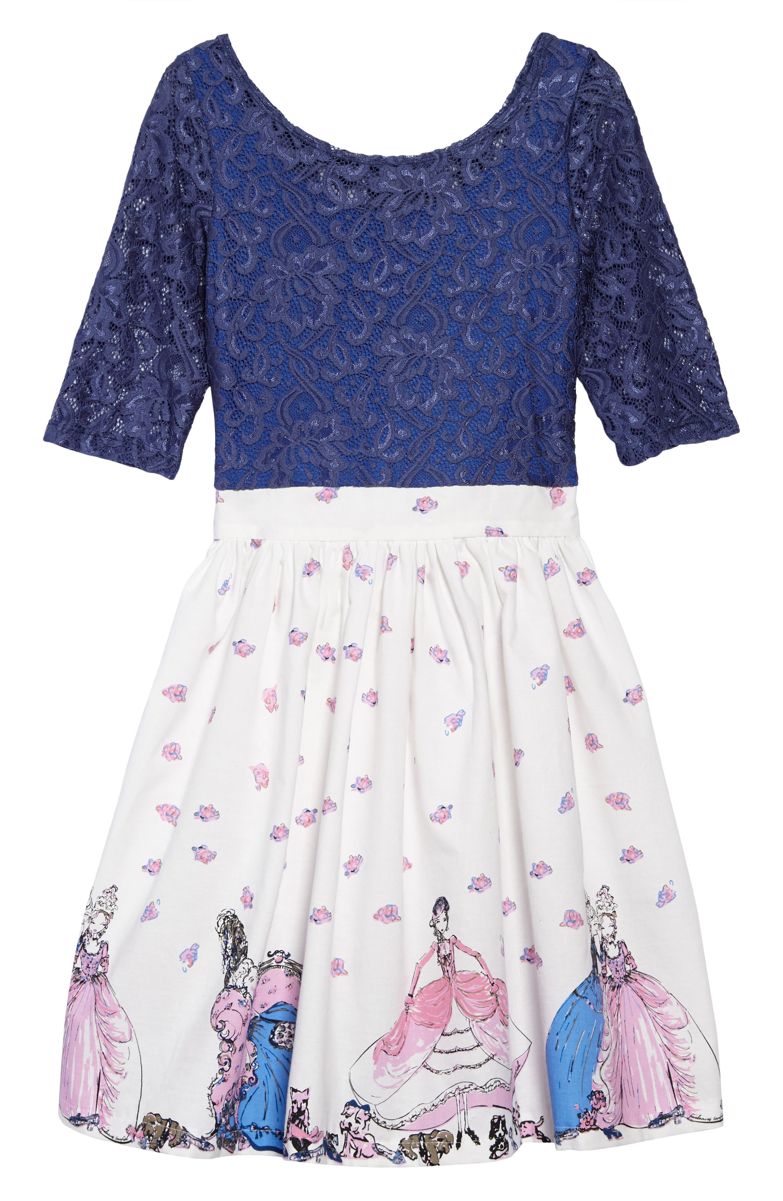 Abbie Girl & Her Shoes Dress,                         Main,                         color, 400