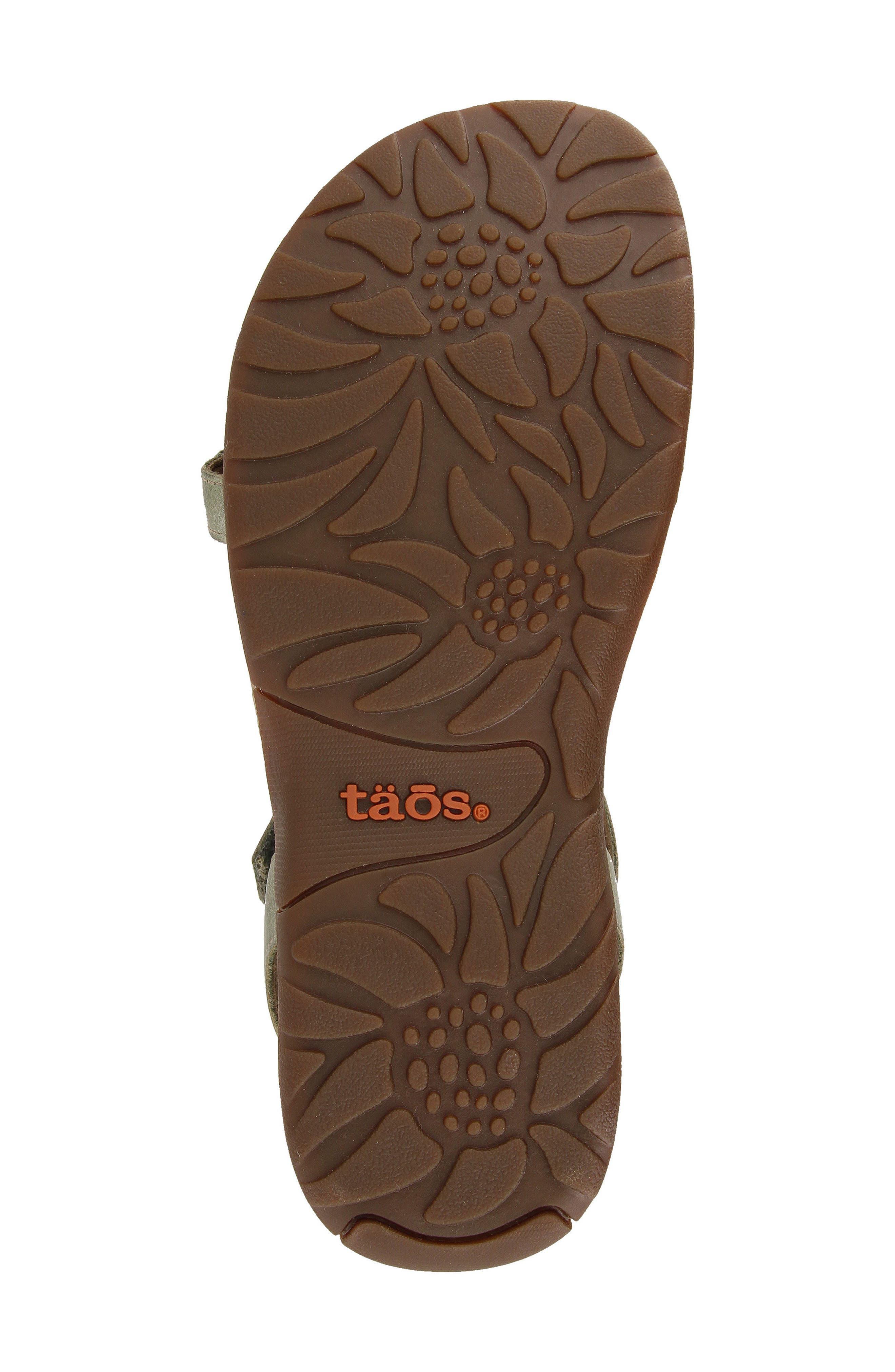 TAOS,                             Award Sandal,                             Alternate thumbnail 5, color,                             318
