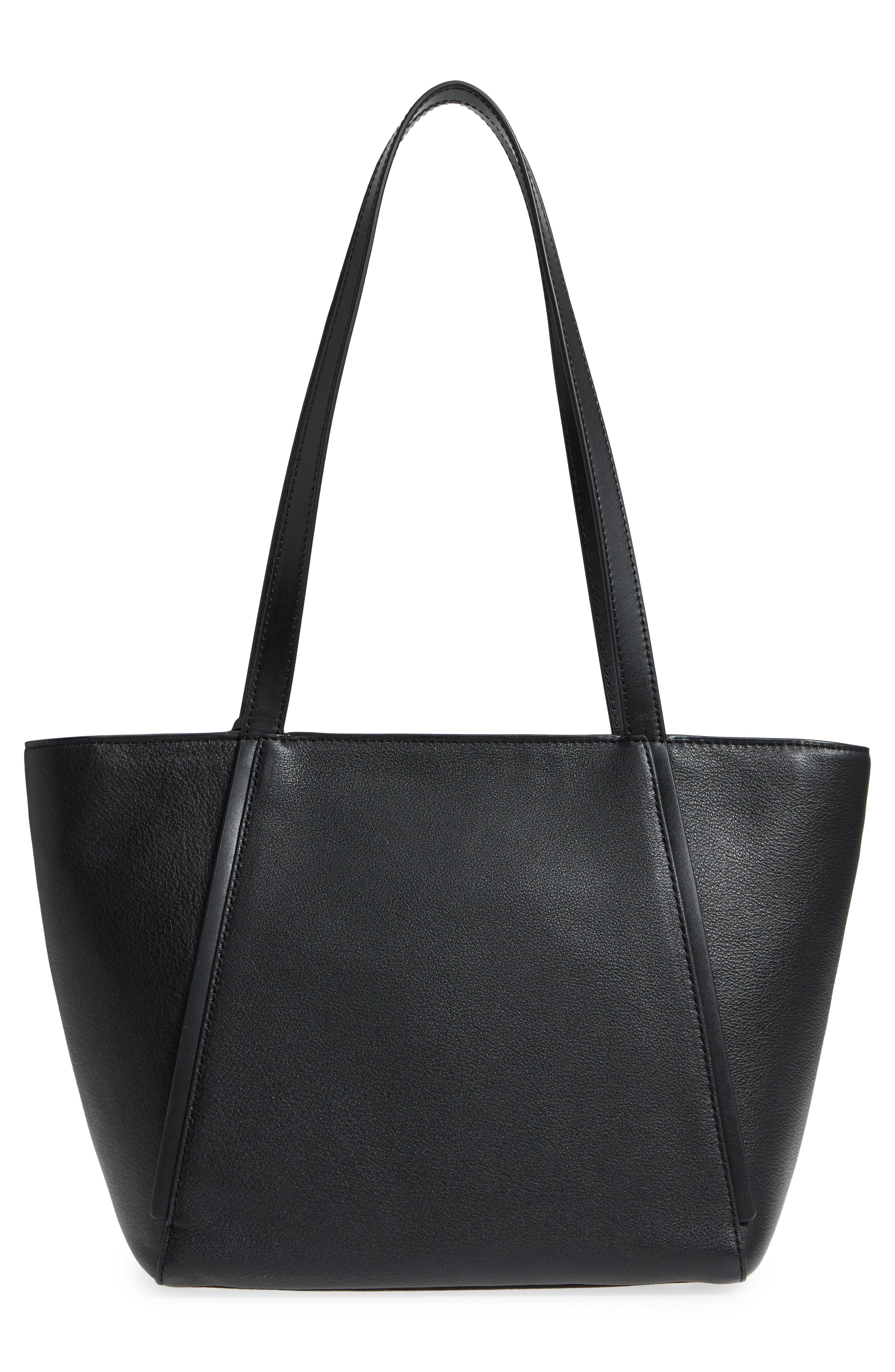 Small Whitney Leather Tote,                             Alternate thumbnail 10, color,