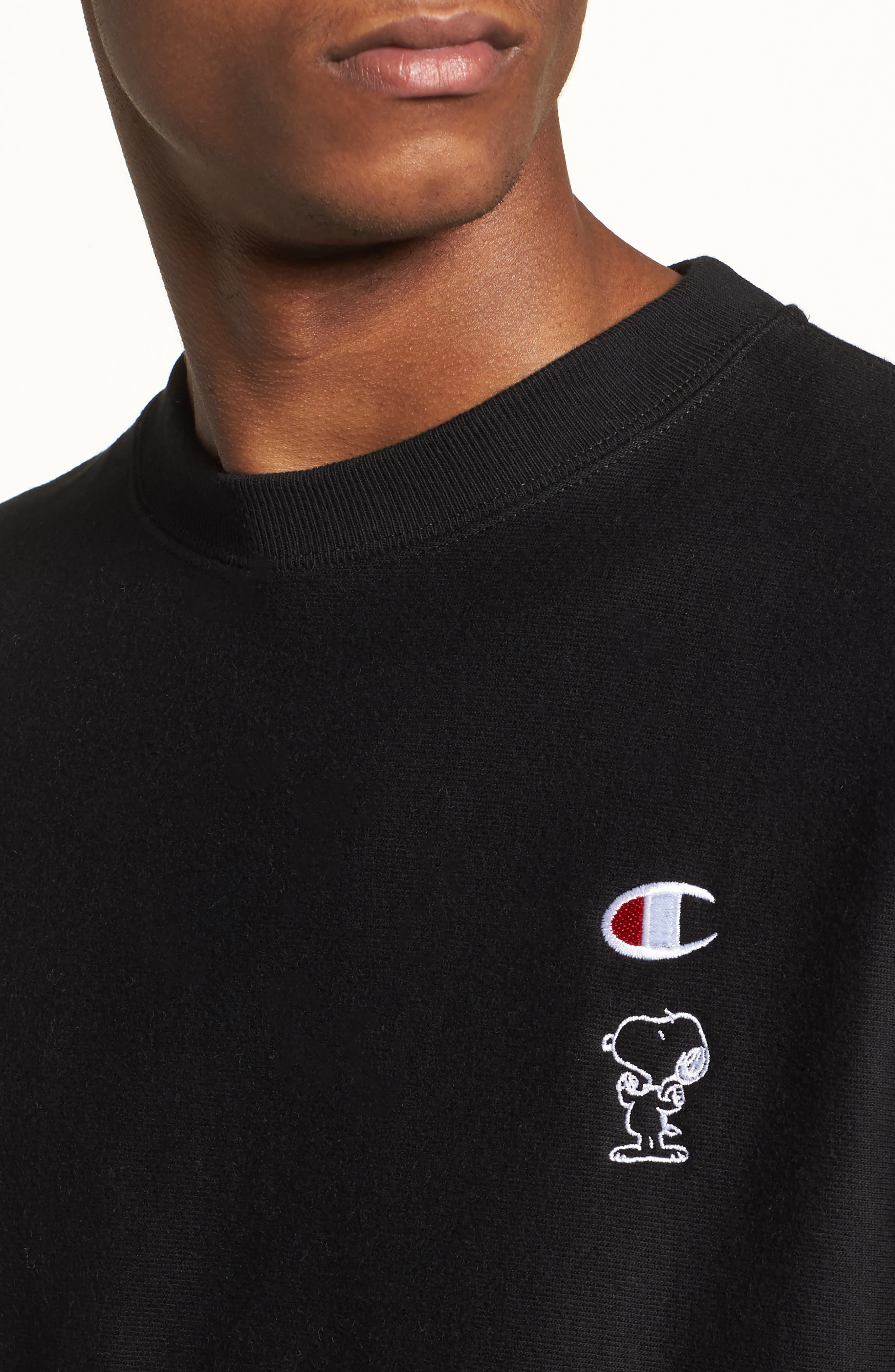 Snoopy Unisex Sweatshirt,                             Alternate thumbnail 4, color,                             001