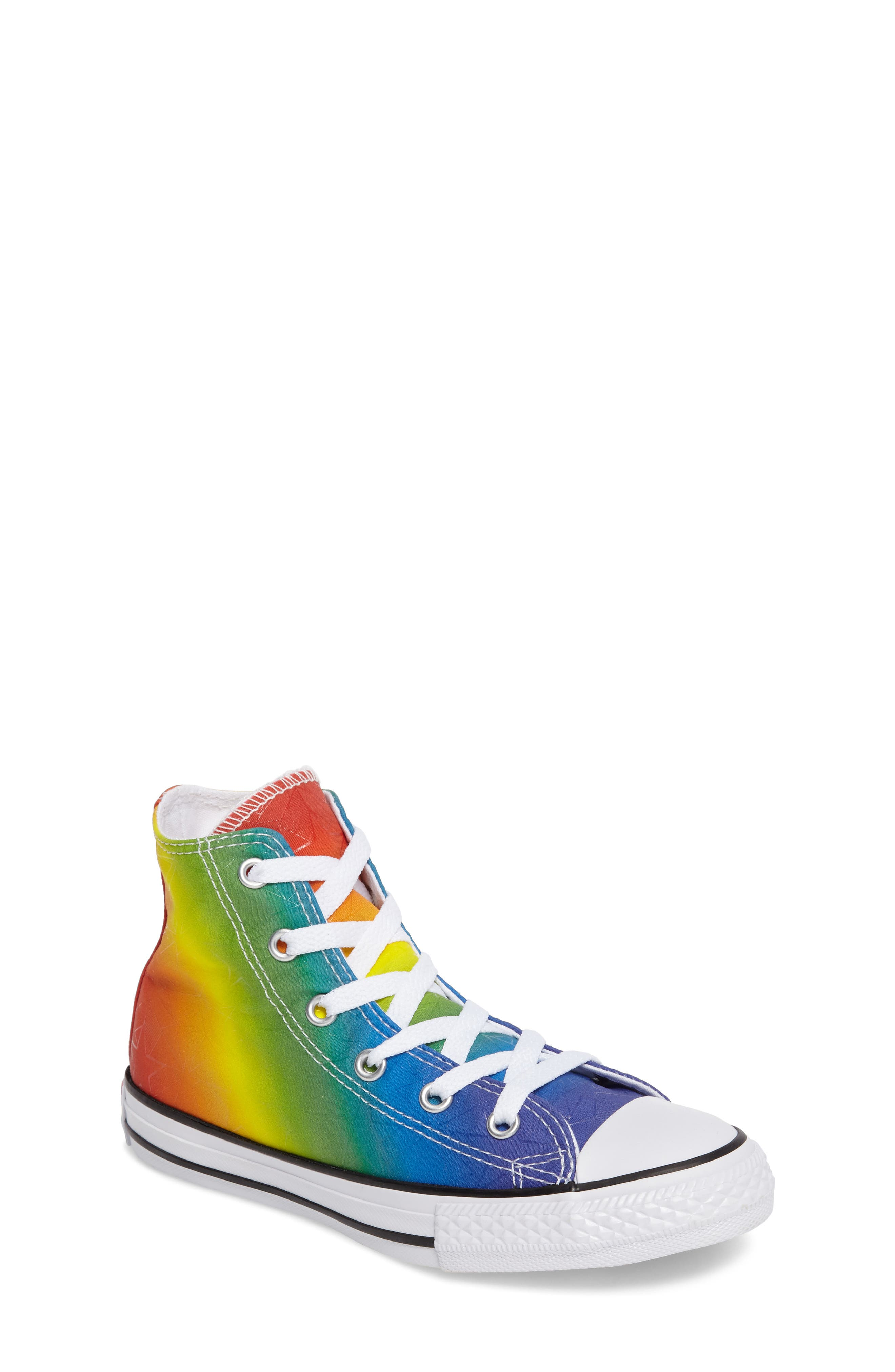 Chuck Taylor<sup>®</sup> All Star<sup>®</sup> Pride High Top Sneaker, Main, color, 400