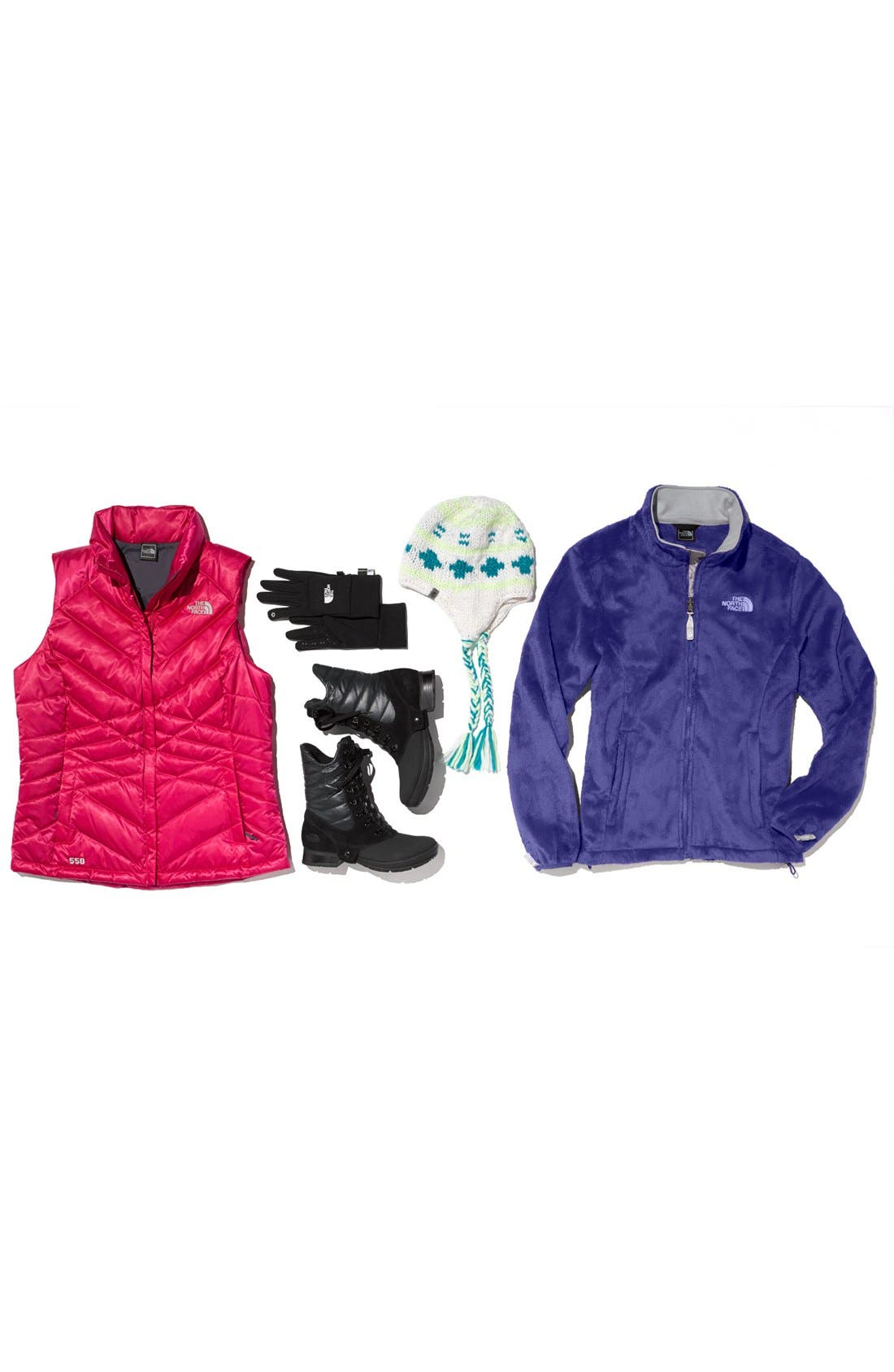 'Aconcagua' Down Vest,                             Alternate thumbnail 4, color,                             001