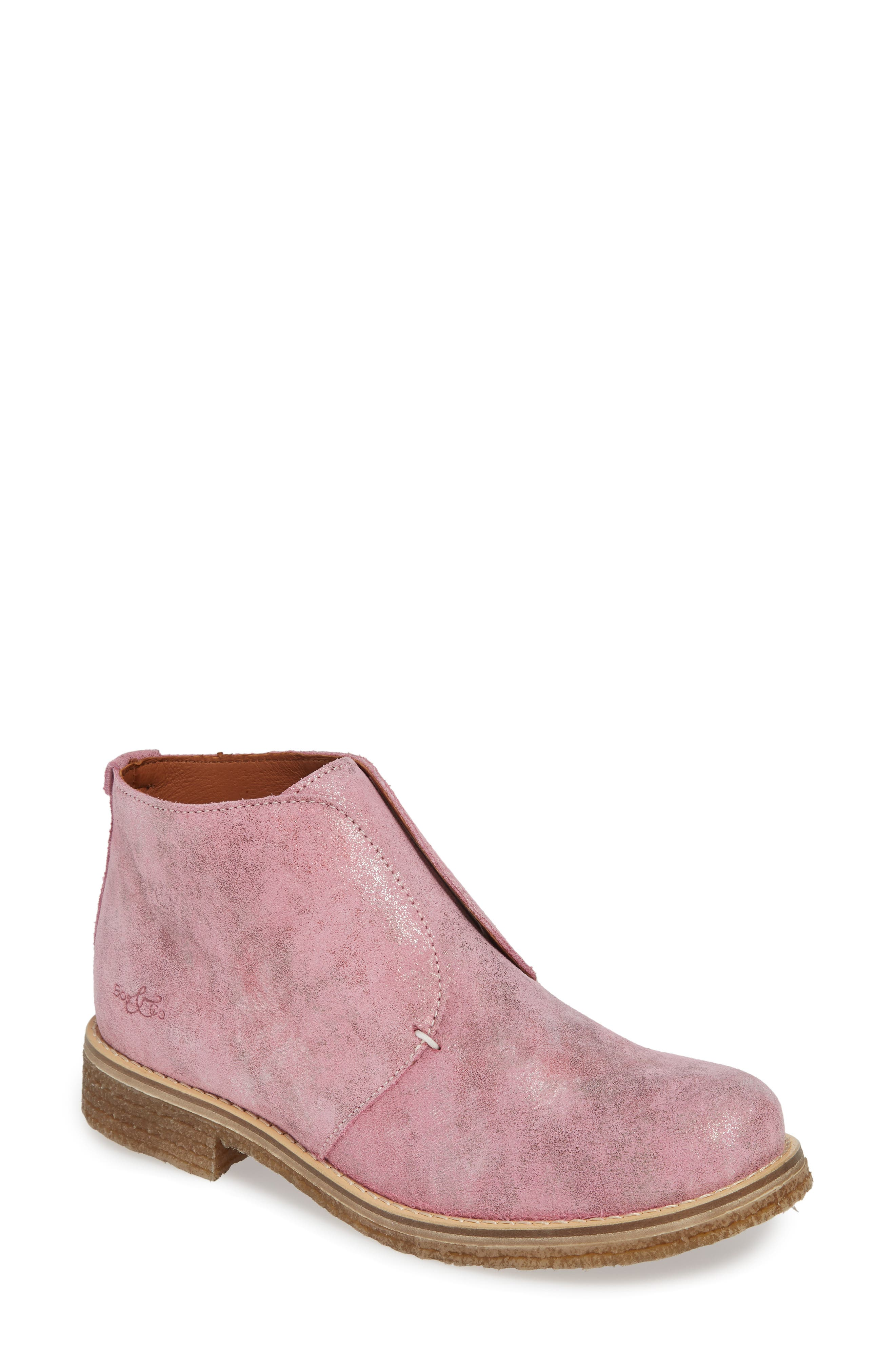 Bos. & Co. Tvol Laceless Chukka Boot - Pink