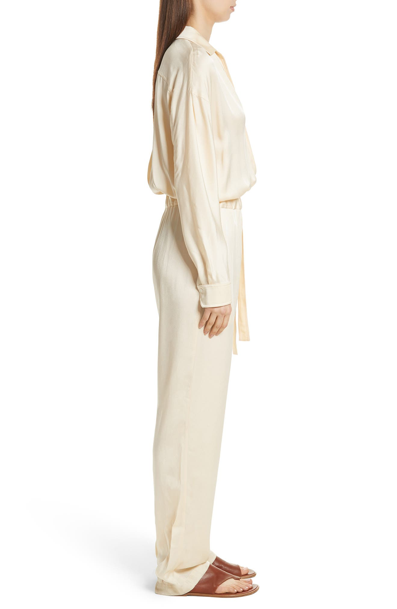 Cross Front Jumpsuit,                             Alternate thumbnail 6, color,