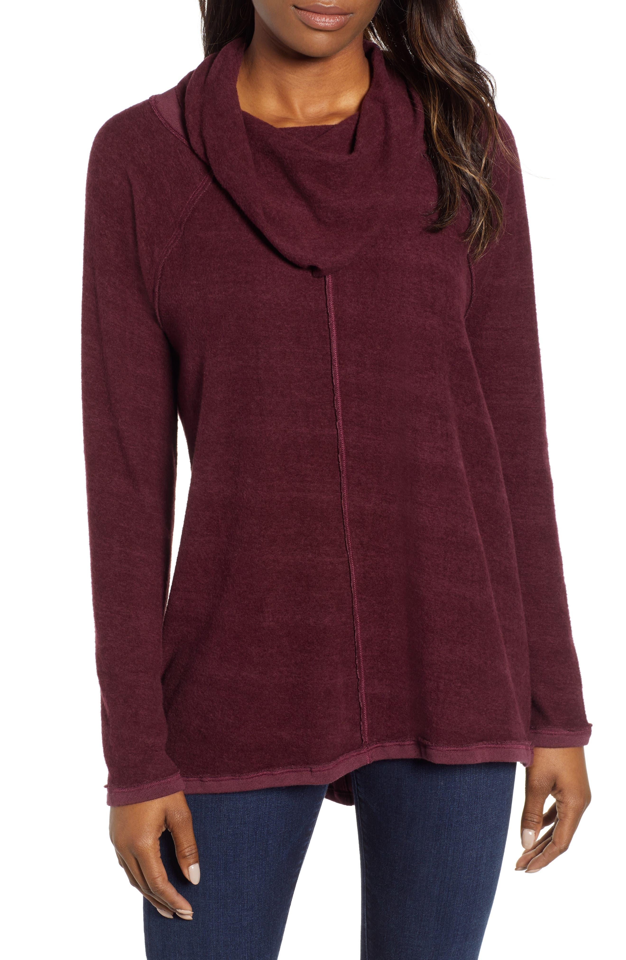 Knit Cowl Neck Tunic,                         Main,                         color, 930