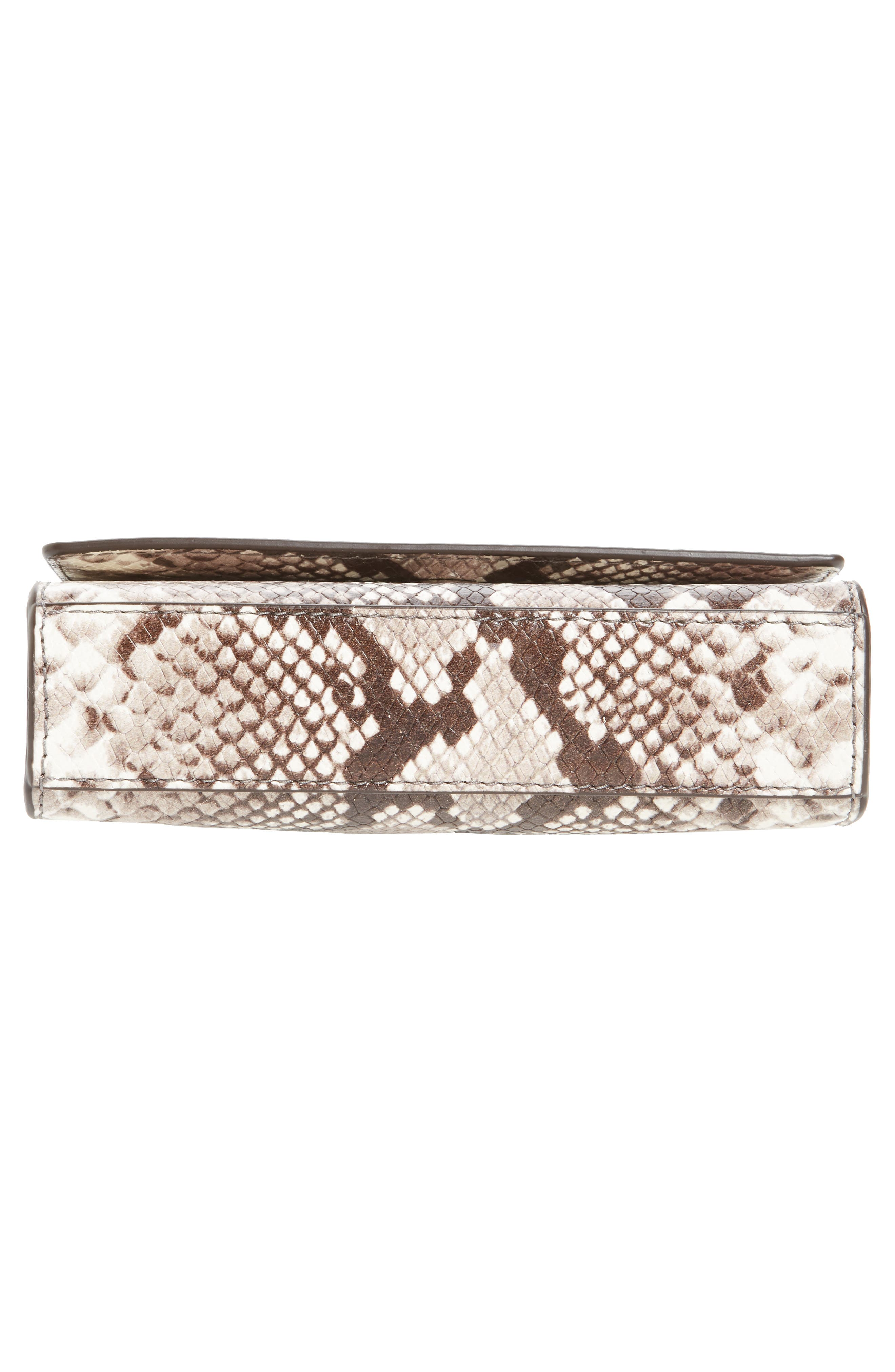 Ruby Leather Clutch,                             Alternate thumbnail 6, color,                             269