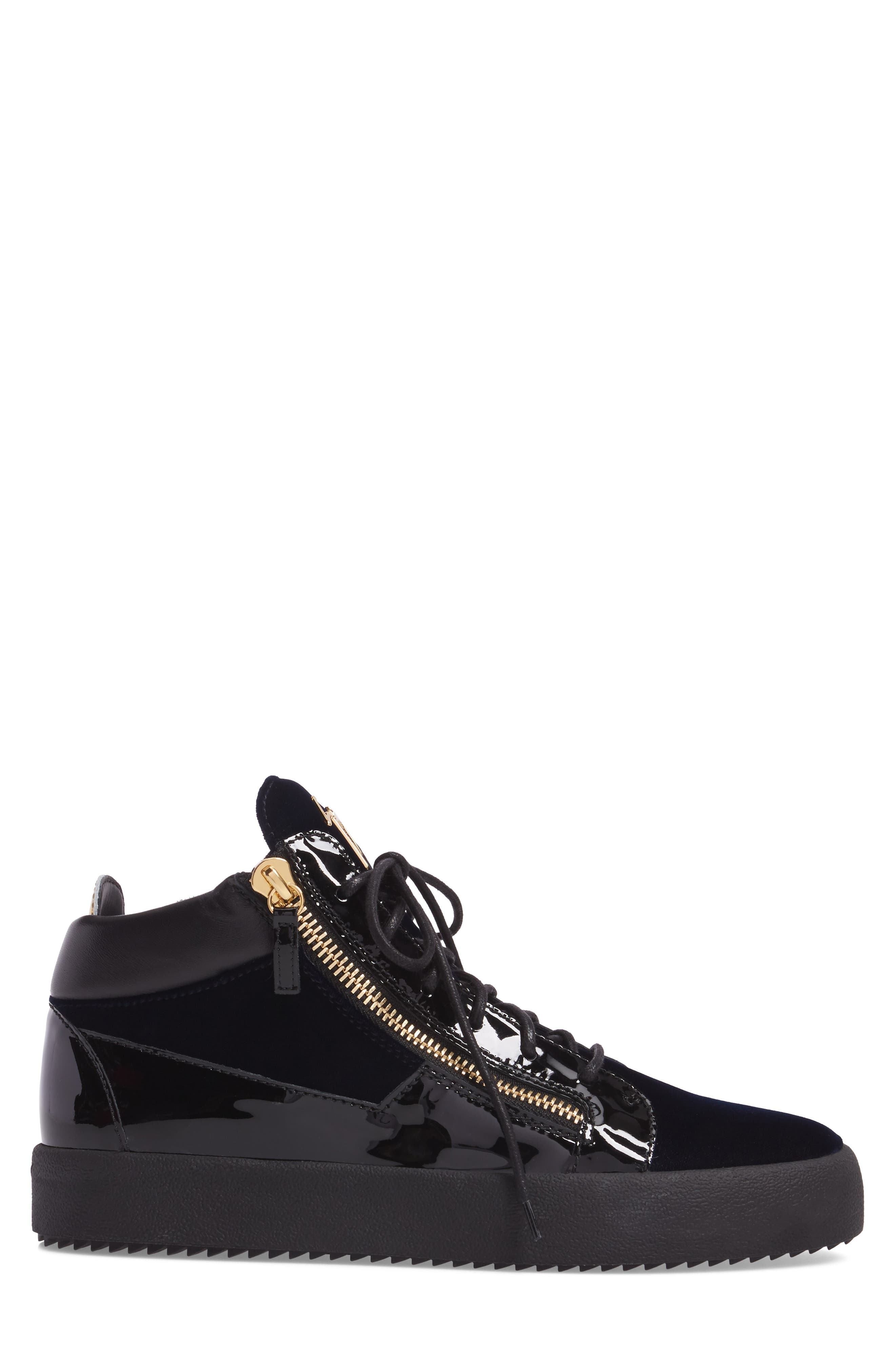 High-Top Sneaker,                             Alternate thumbnail 3, color,                             410