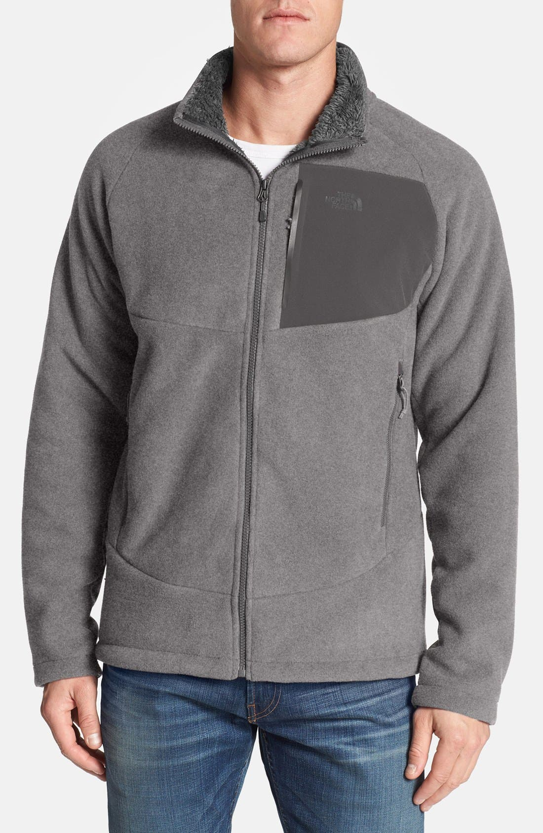 'Chimborazo' Zip Front Fleece Jacket,                             Main thumbnail 8, color,