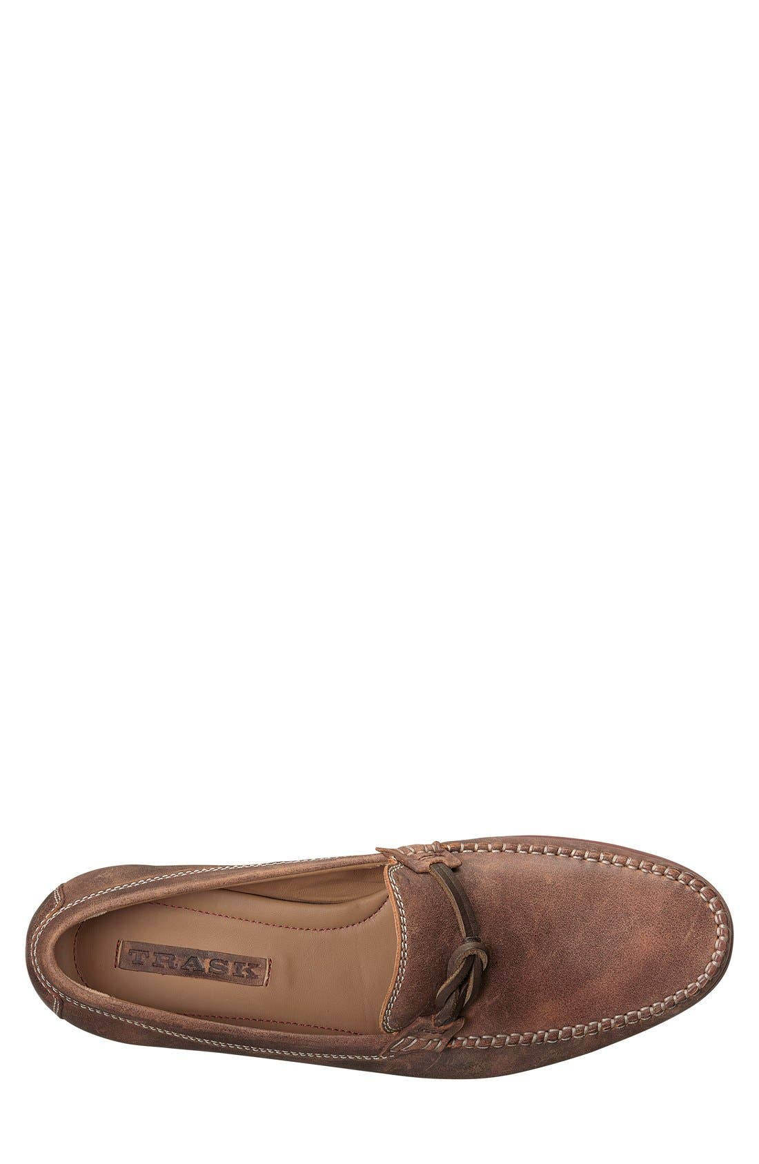 'Seth' Loafer,                             Alternate thumbnail 3, color,                             BROWN
