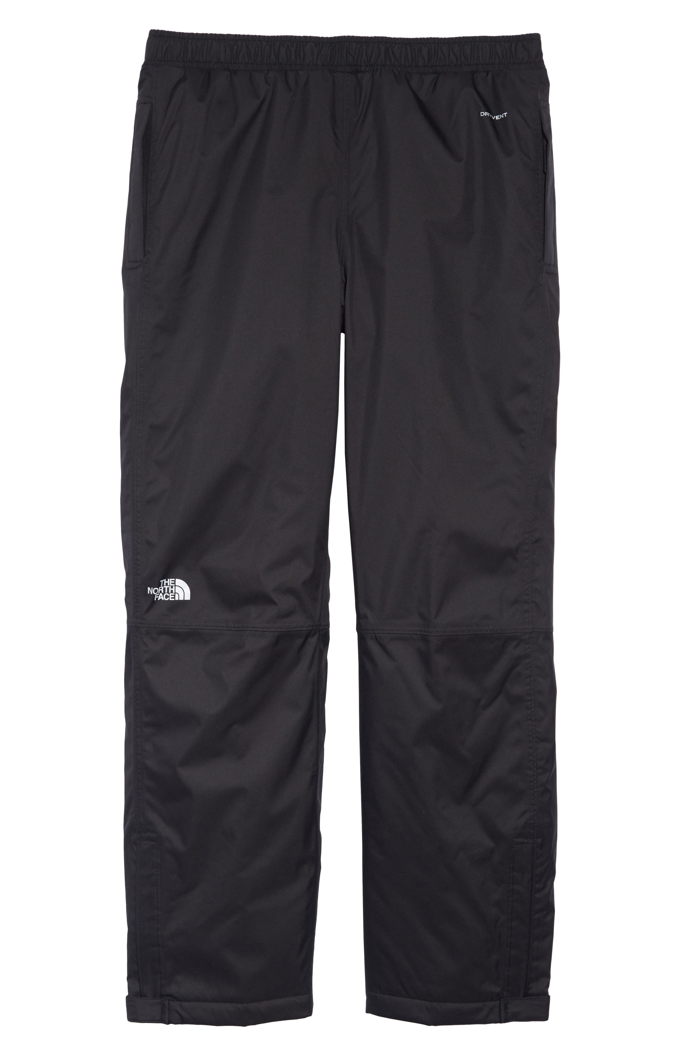 THE NORTH FACE Resolve Waterproof Pants, Main, color, TNF BLACK