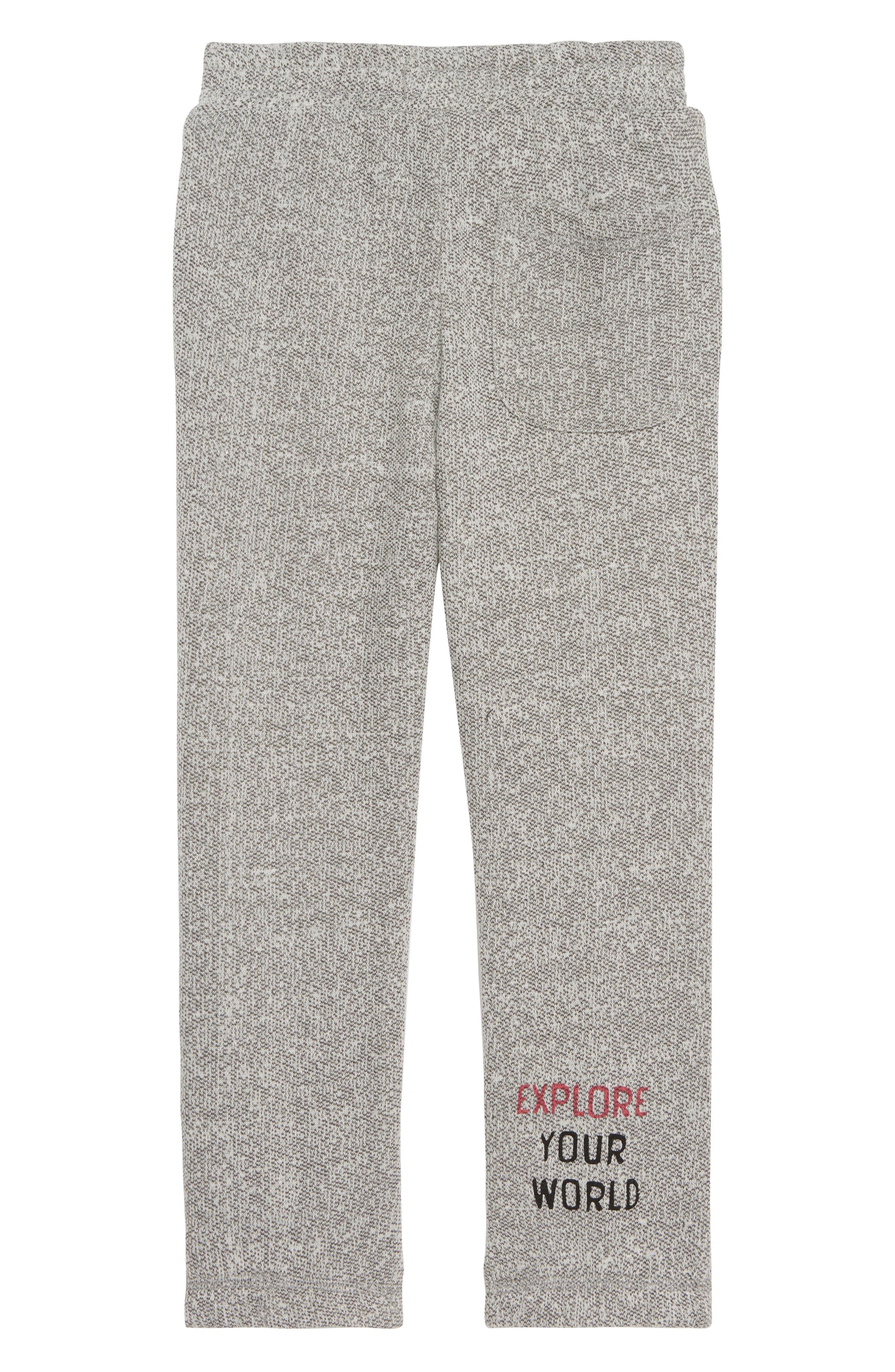 Mason Knit Jogger Pants,                             Alternate thumbnail 2, color,                             GREY HEATHER