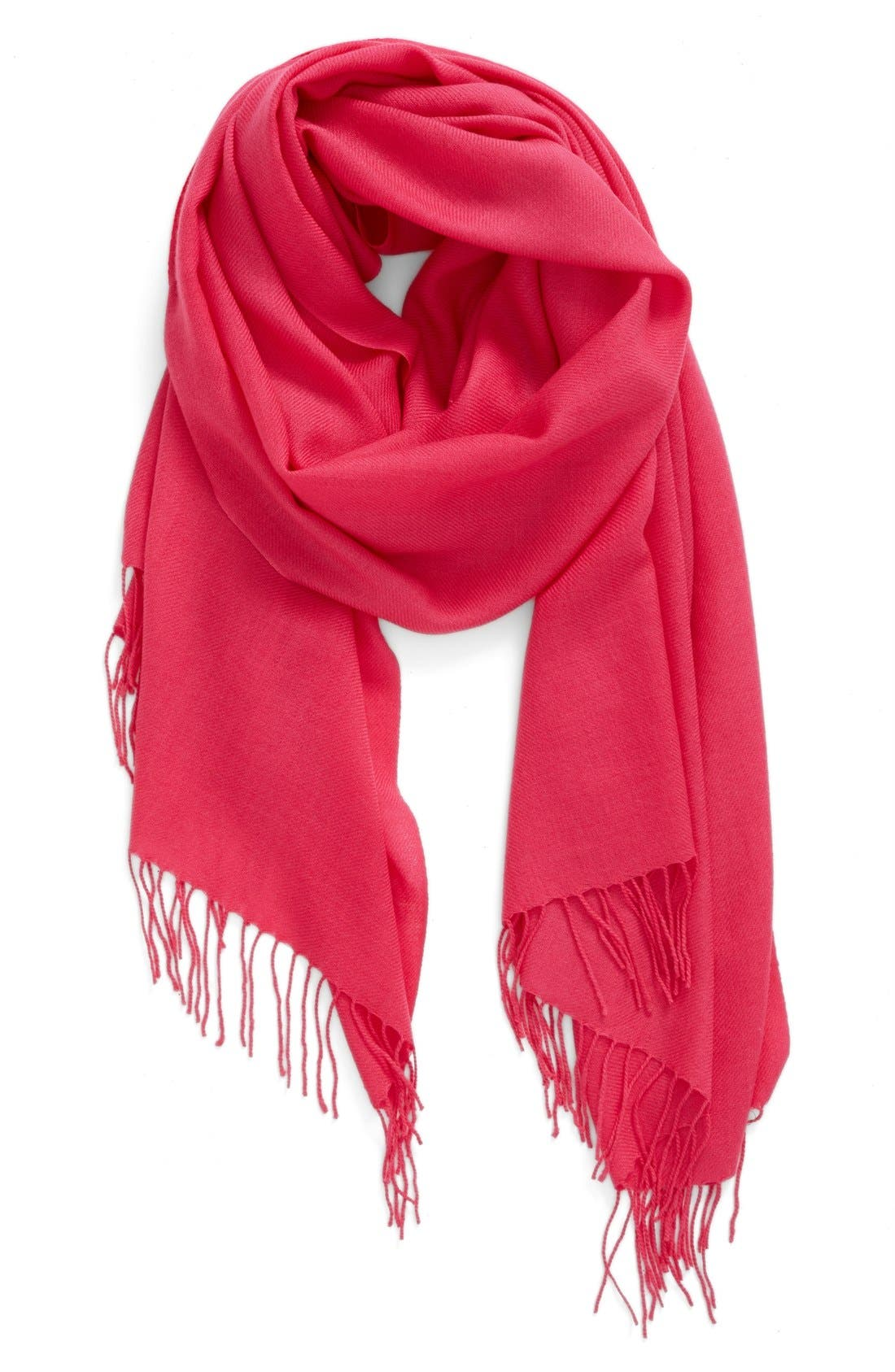 Tissue Weight Wool & Cashmere Scarf,                             Main thumbnail 65, color,