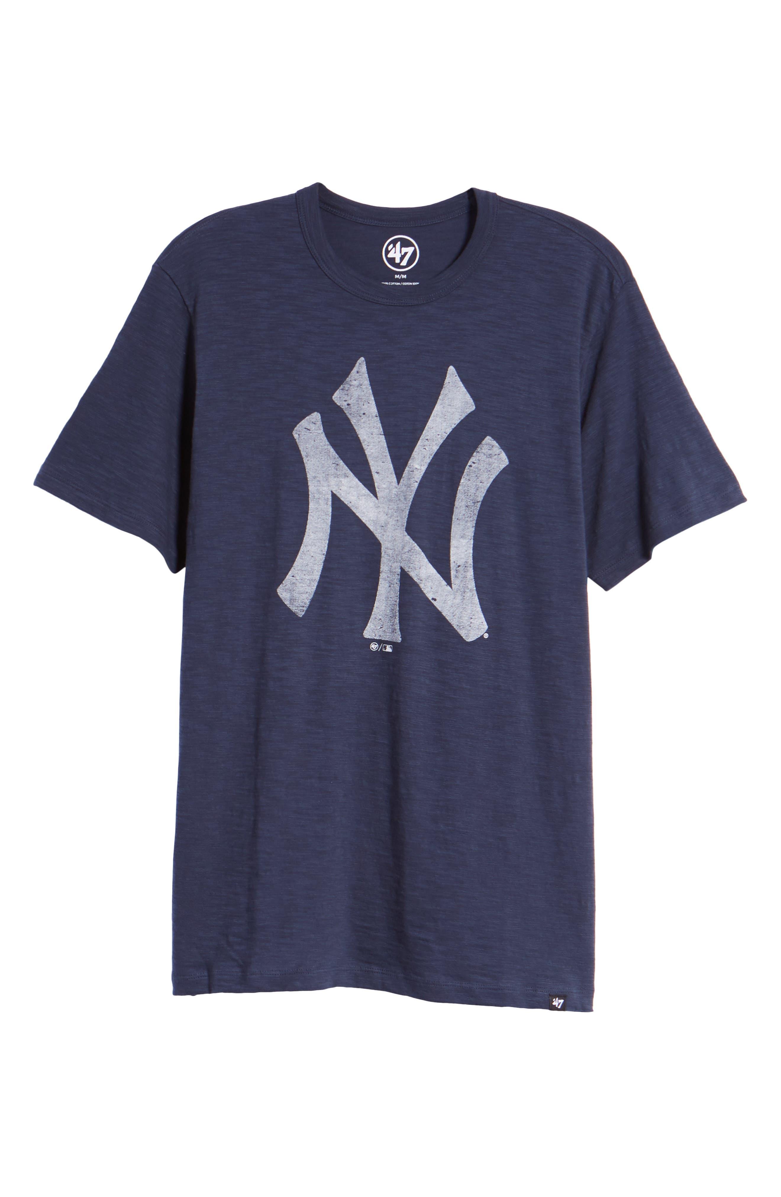 MLB Grit Scrum New York Yankees T-Shirt,                             Alternate thumbnail 6, color,                             410
