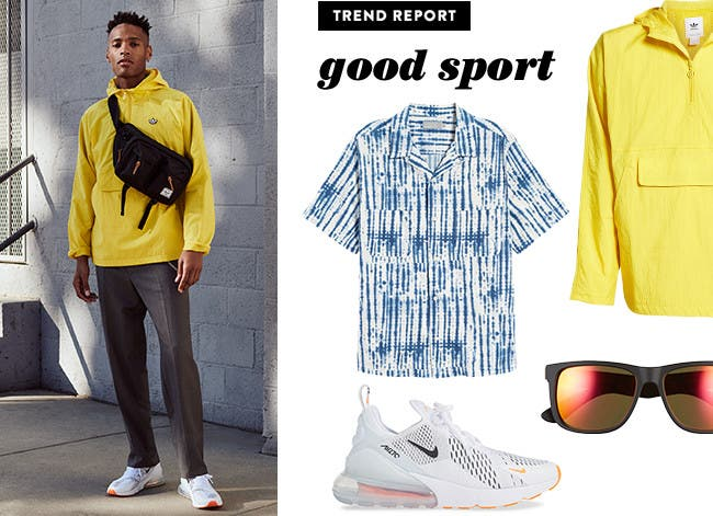 Men's what's now trend: Good Sport.