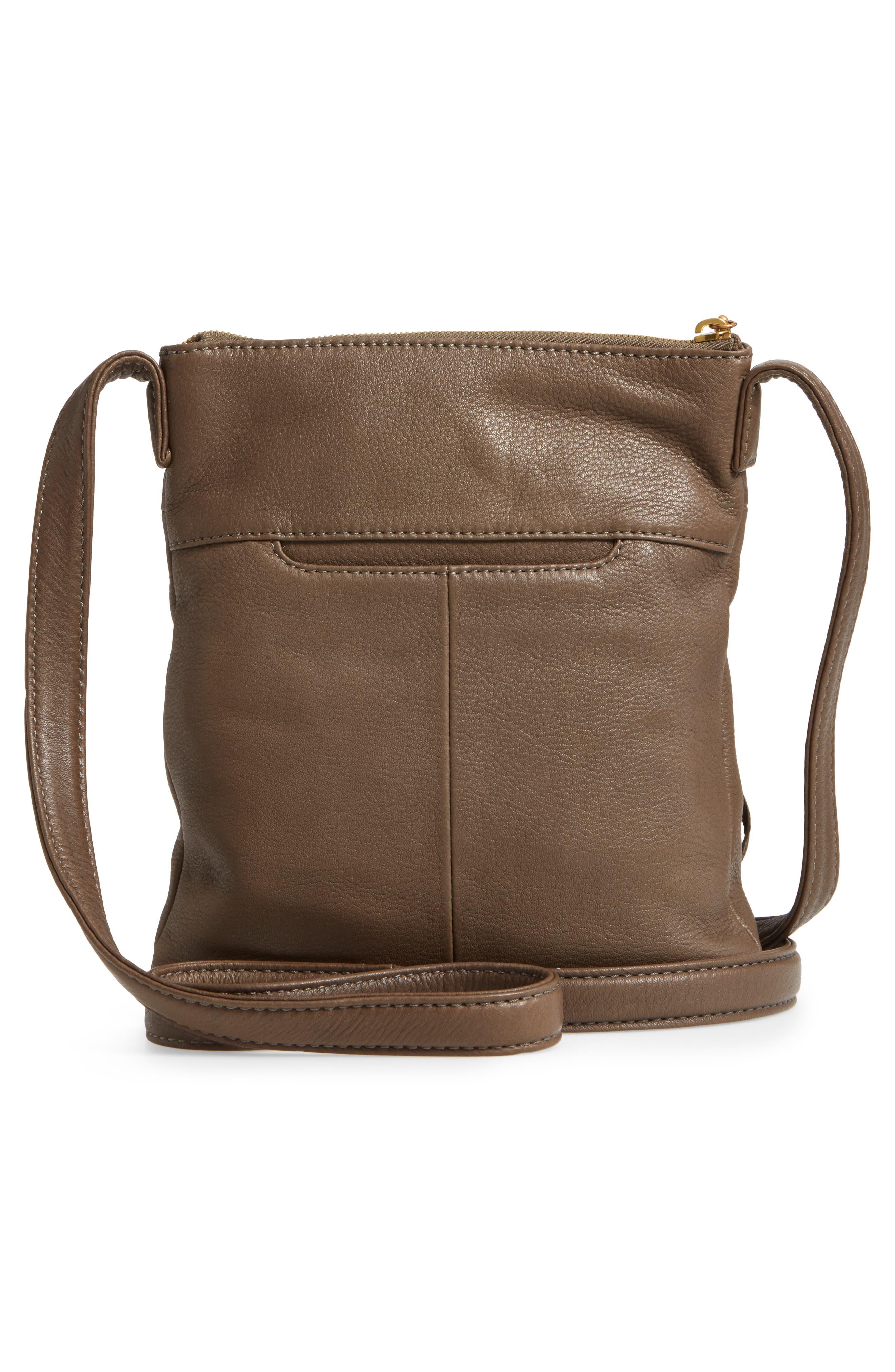 'Sarah' Leather Crossbody Bag,                             Alternate thumbnail 16, color,