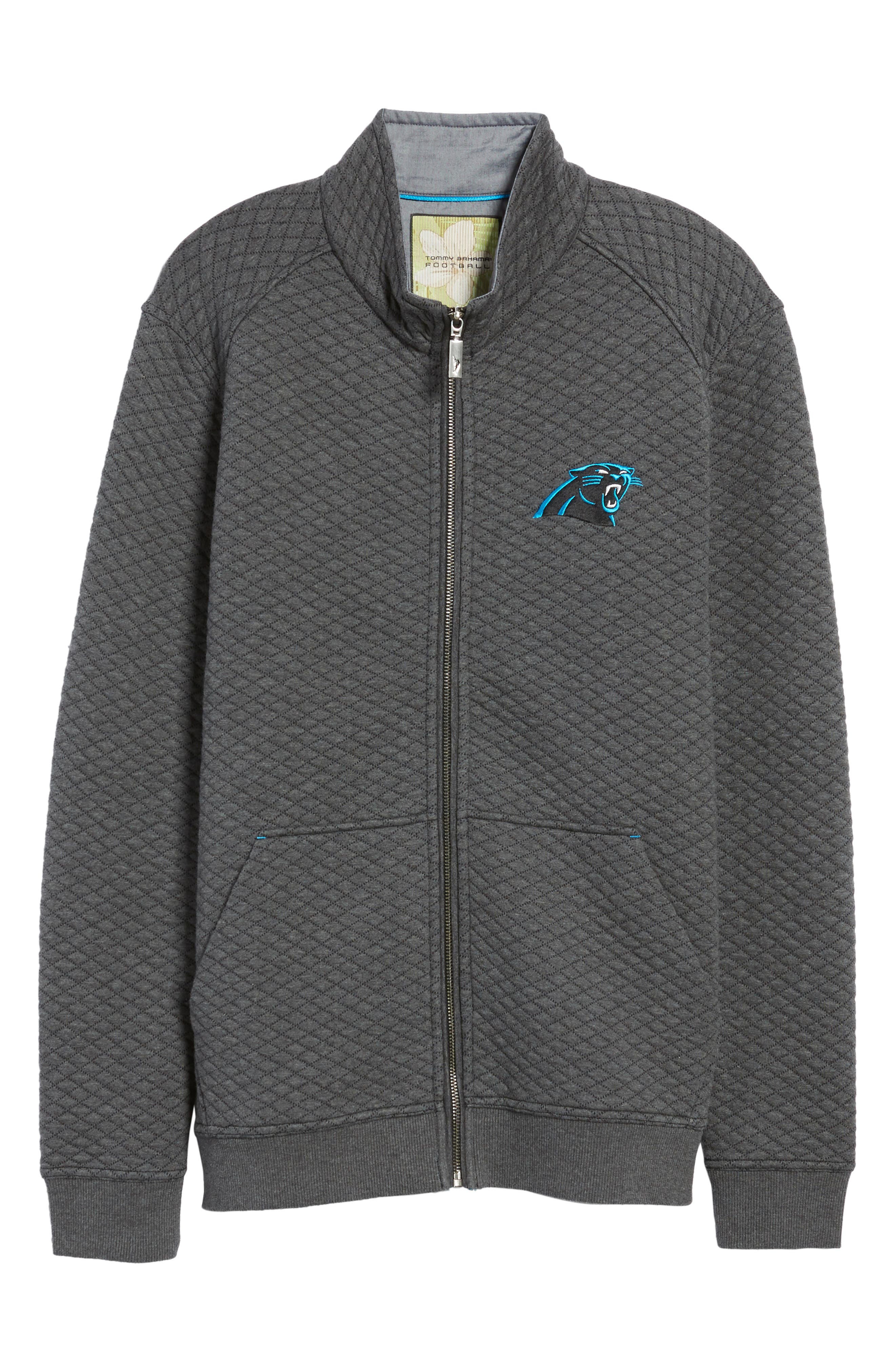 NFL Quiltessential Full Zip Sweatshirt,                             Alternate thumbnail 176, color,