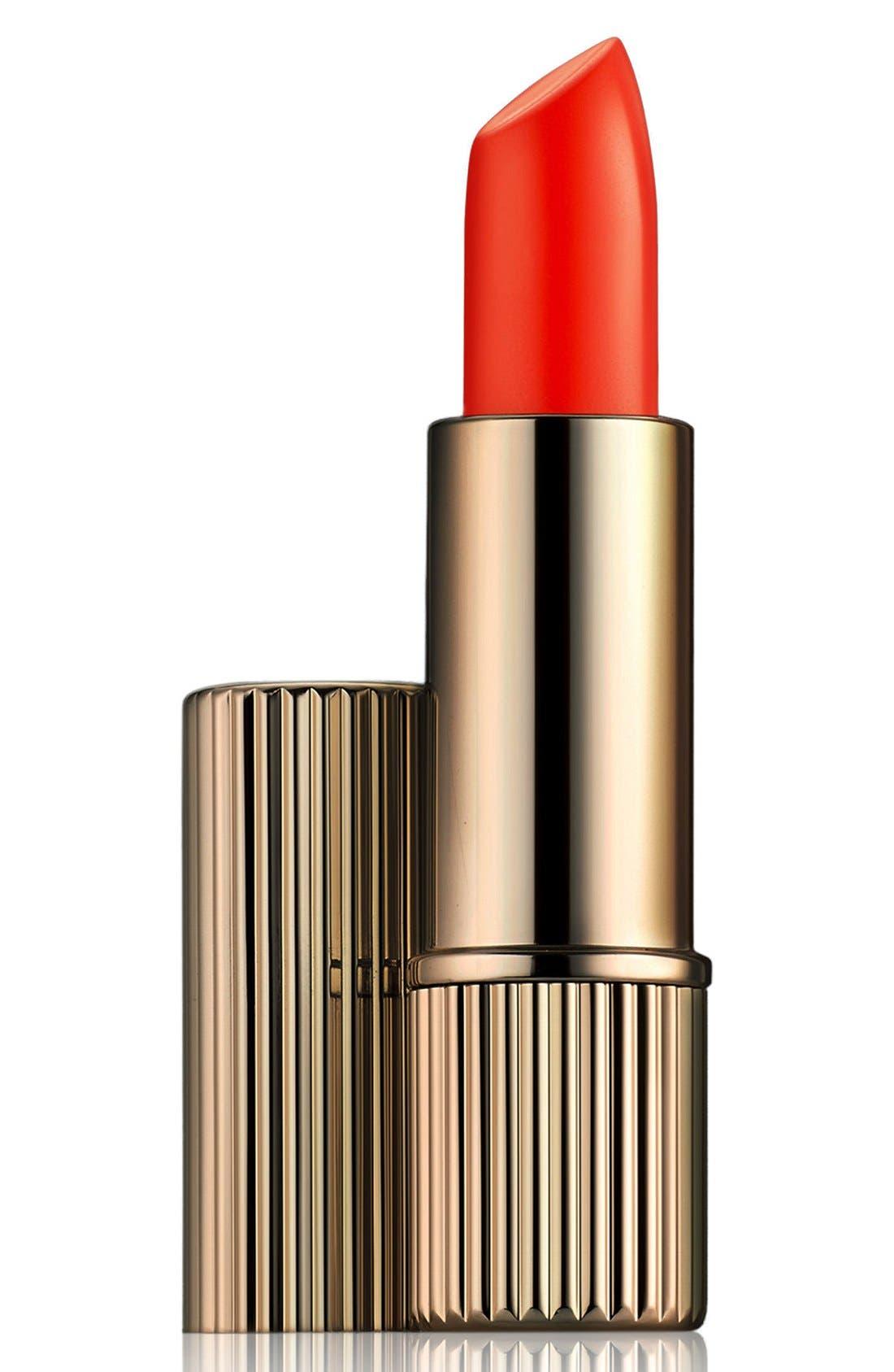 Victoria Beckham Chilean Sunset Lipstick in Gold Case, Main, color, 600