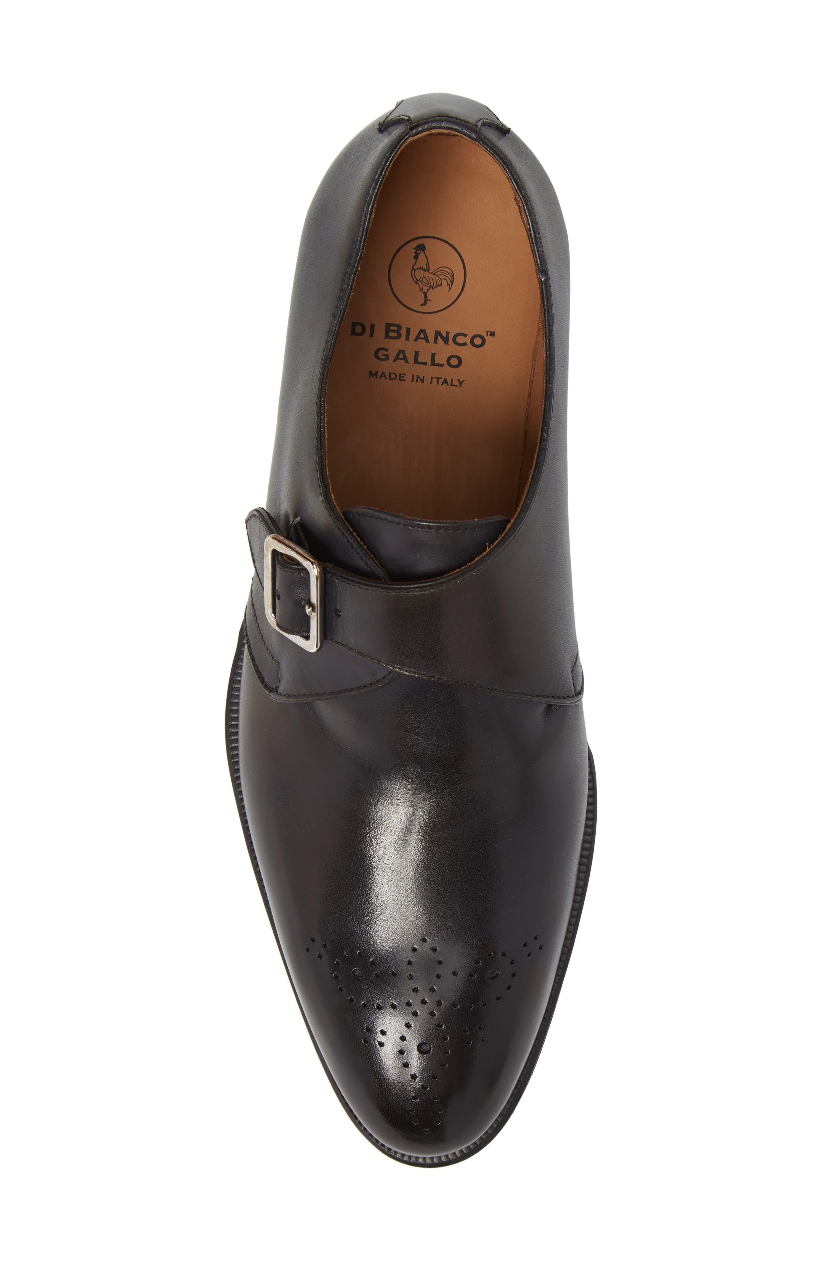 Gallo Bianco Bologna Monk Strap Shoe,                             Alternate thumbnail 5, color,                             402