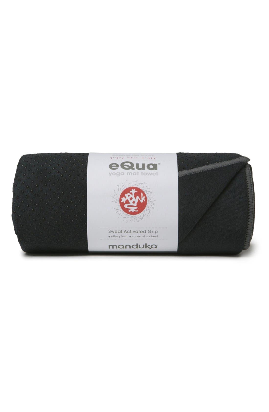 'eQua Hold' Yoga Mat Towel,                         Main,                         color,
