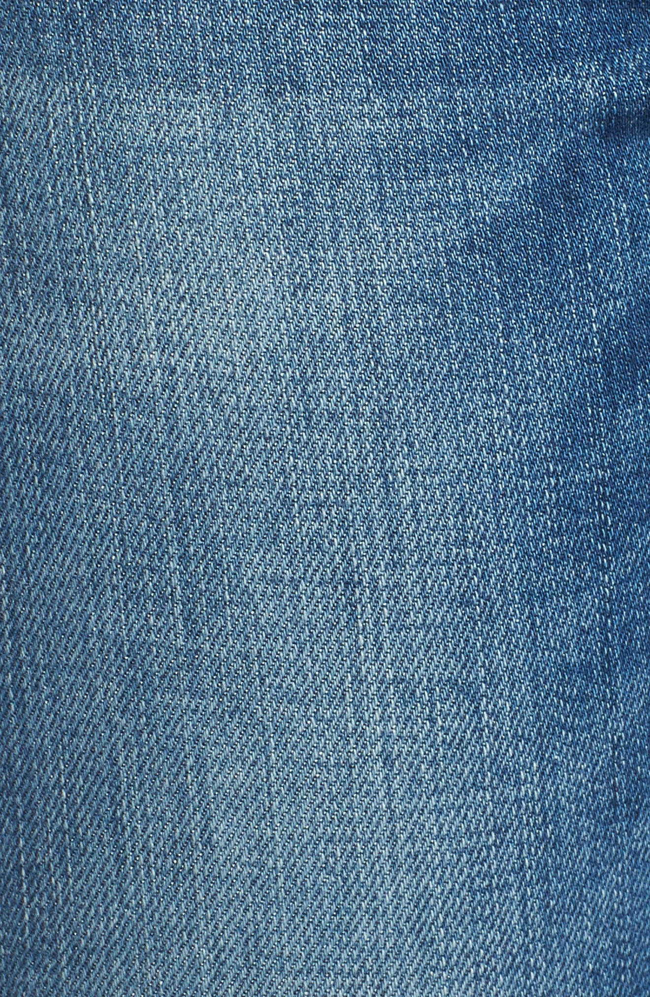 Nico Ankle Super Skinny Jeans,                             Alternate thumbnail 6, color,                             BLUE MONDAY