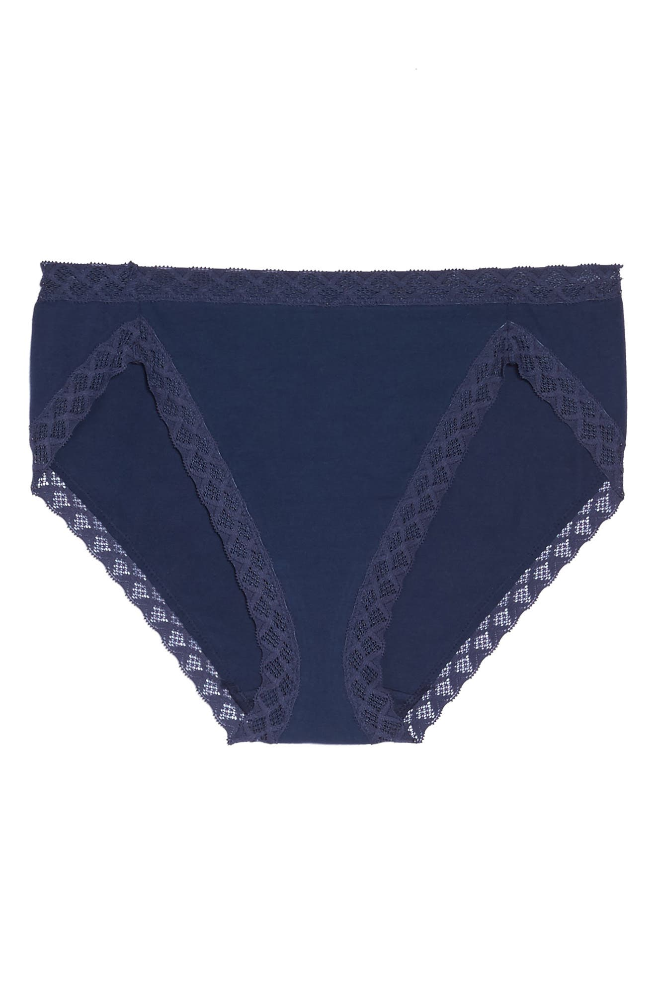 Bliss French Cut Briefs,                             Alternate thumbnail 5, color,                             NIGHT